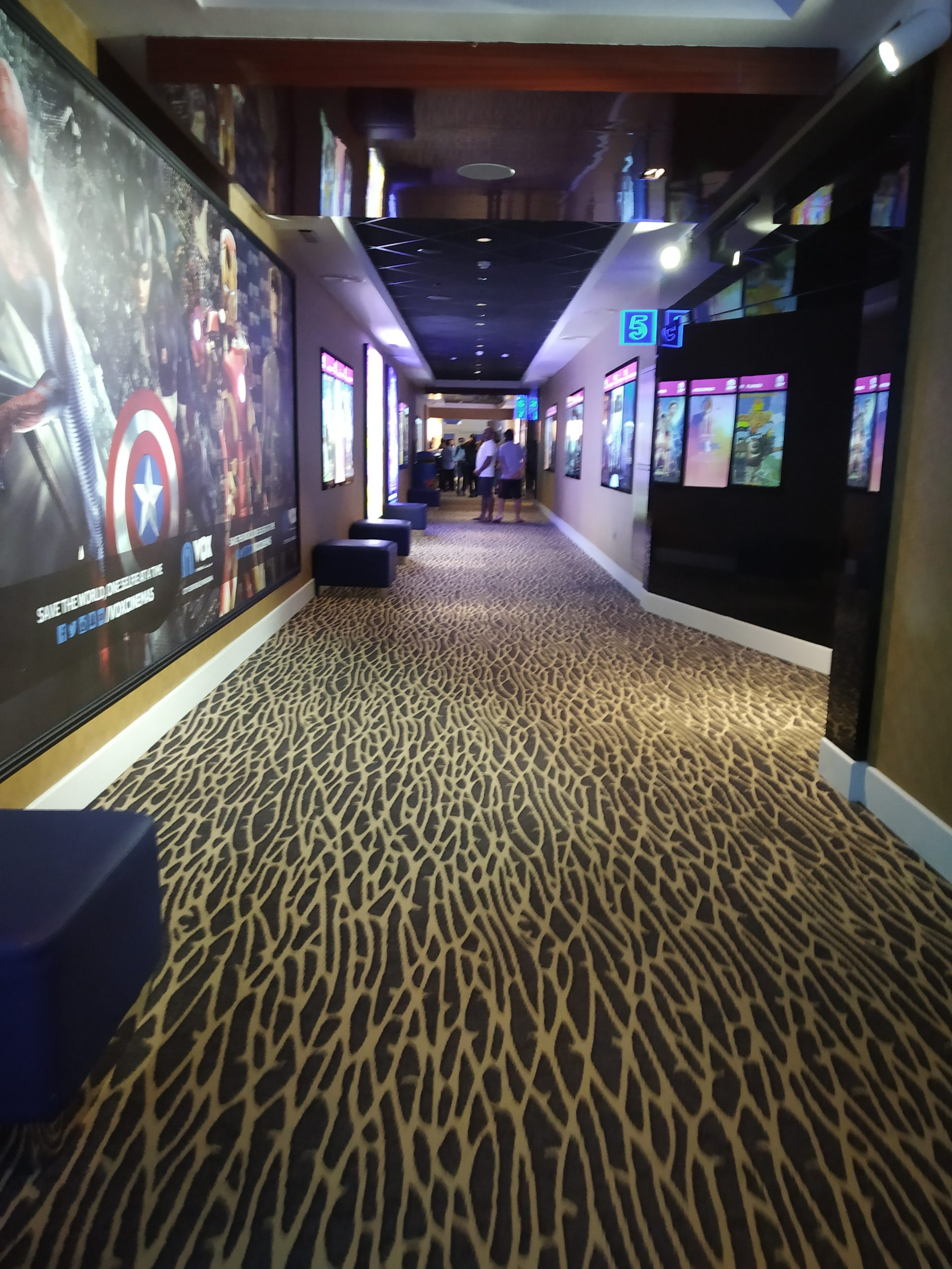 Gallery of a multiplex theatres