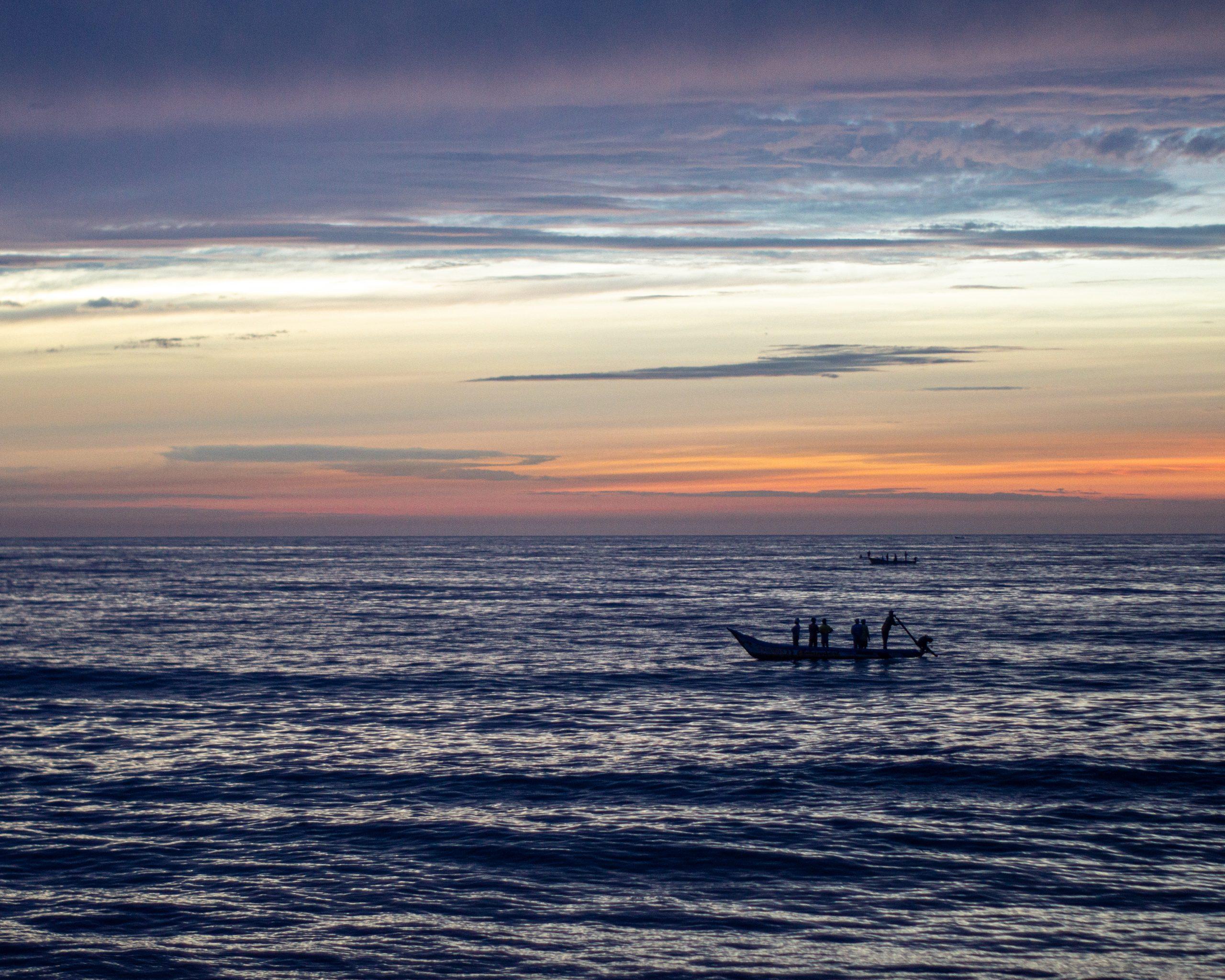 Ocean's Afterglow
