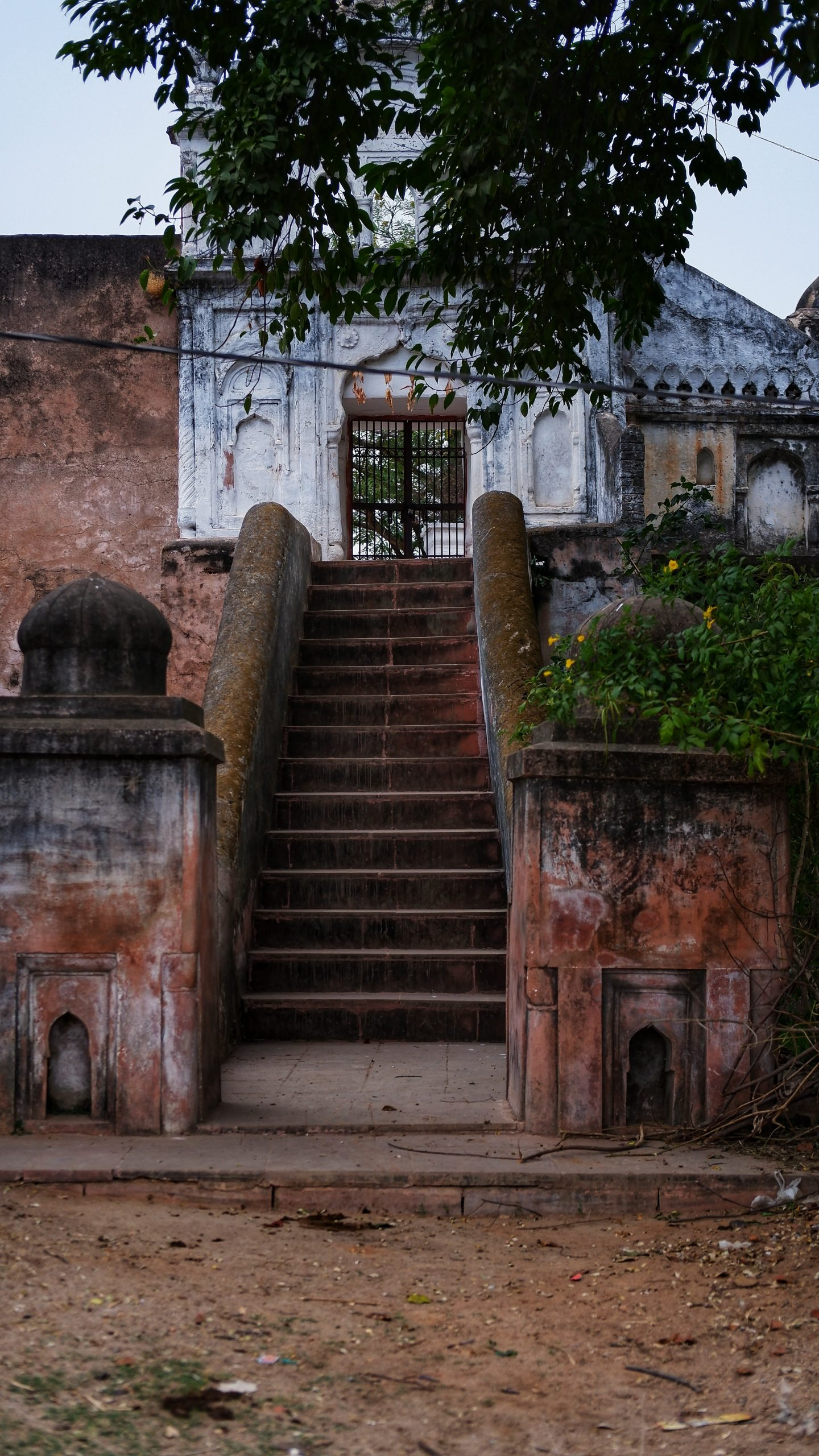 Stairs of an old temple