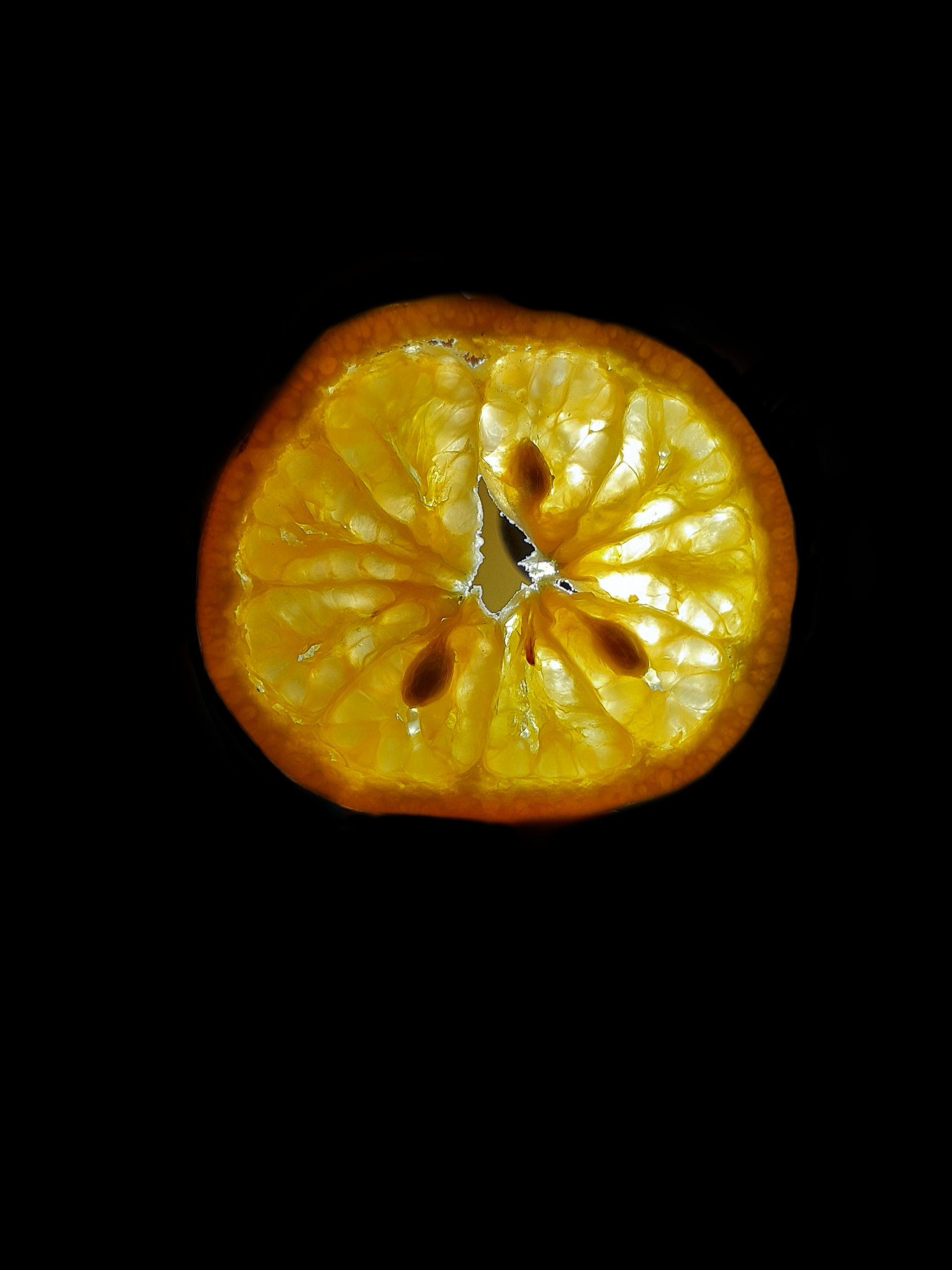 An orange slice