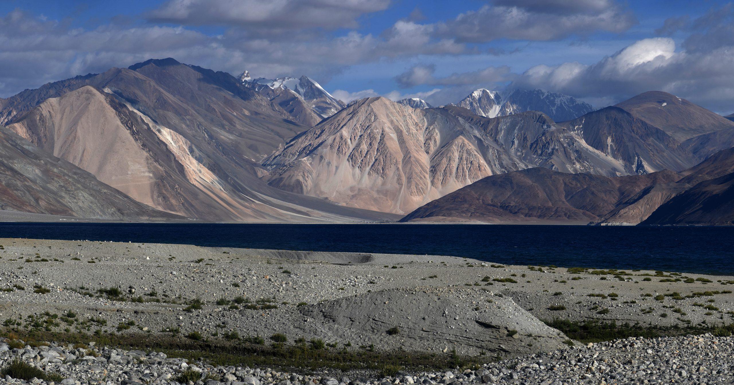 Pangong lake at Leh Ladakh