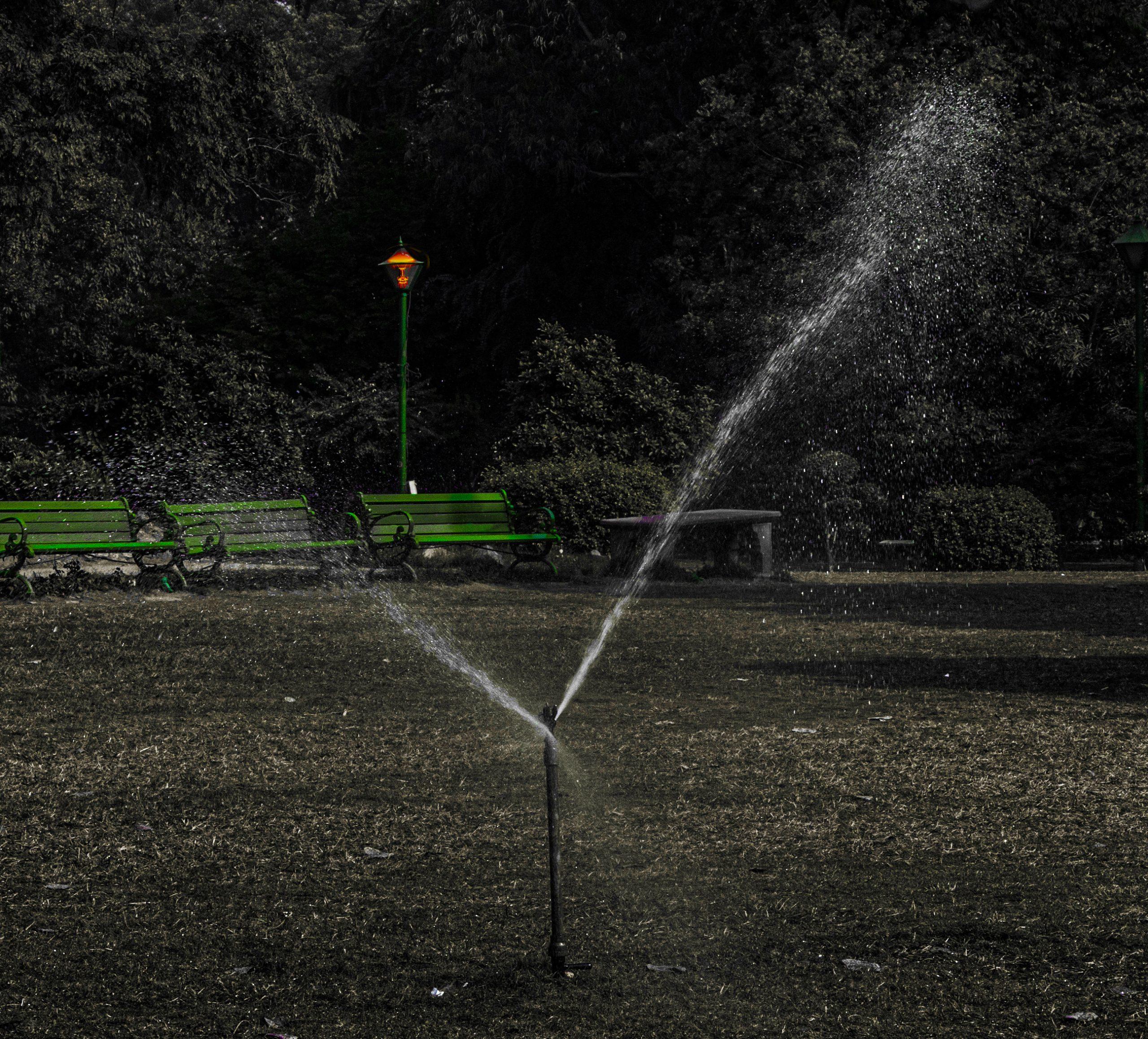 Park water shower