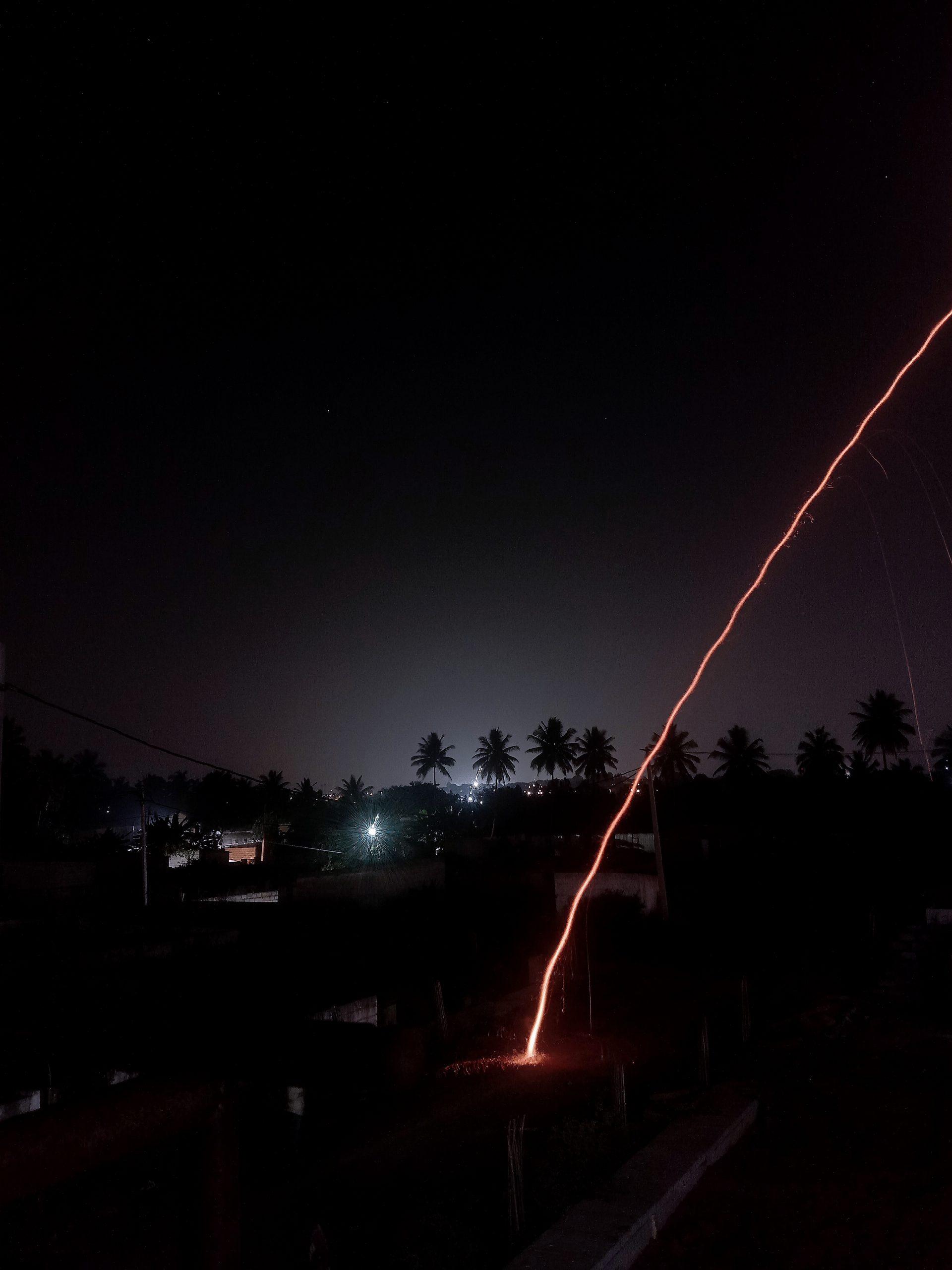 Trajectory of a rocket
