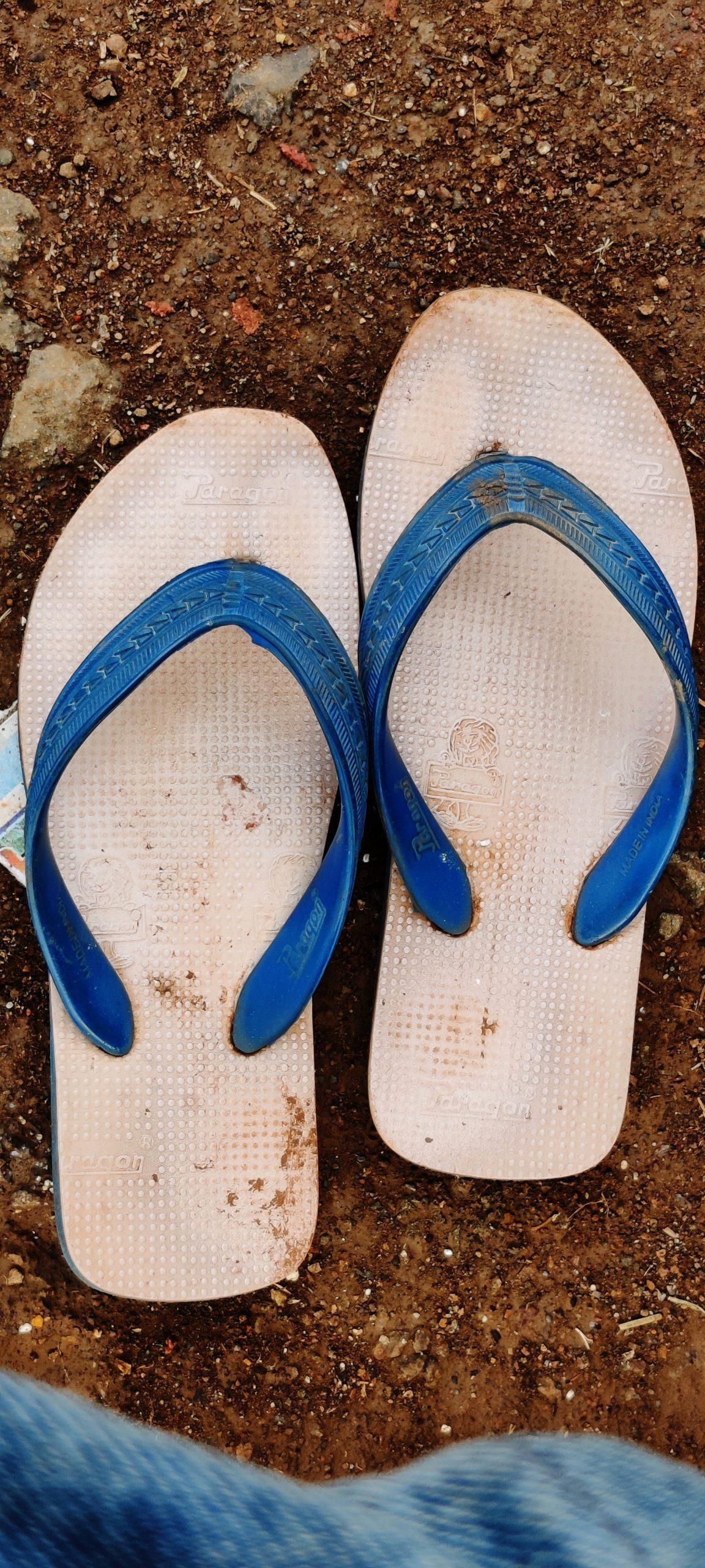 Rubber slipper