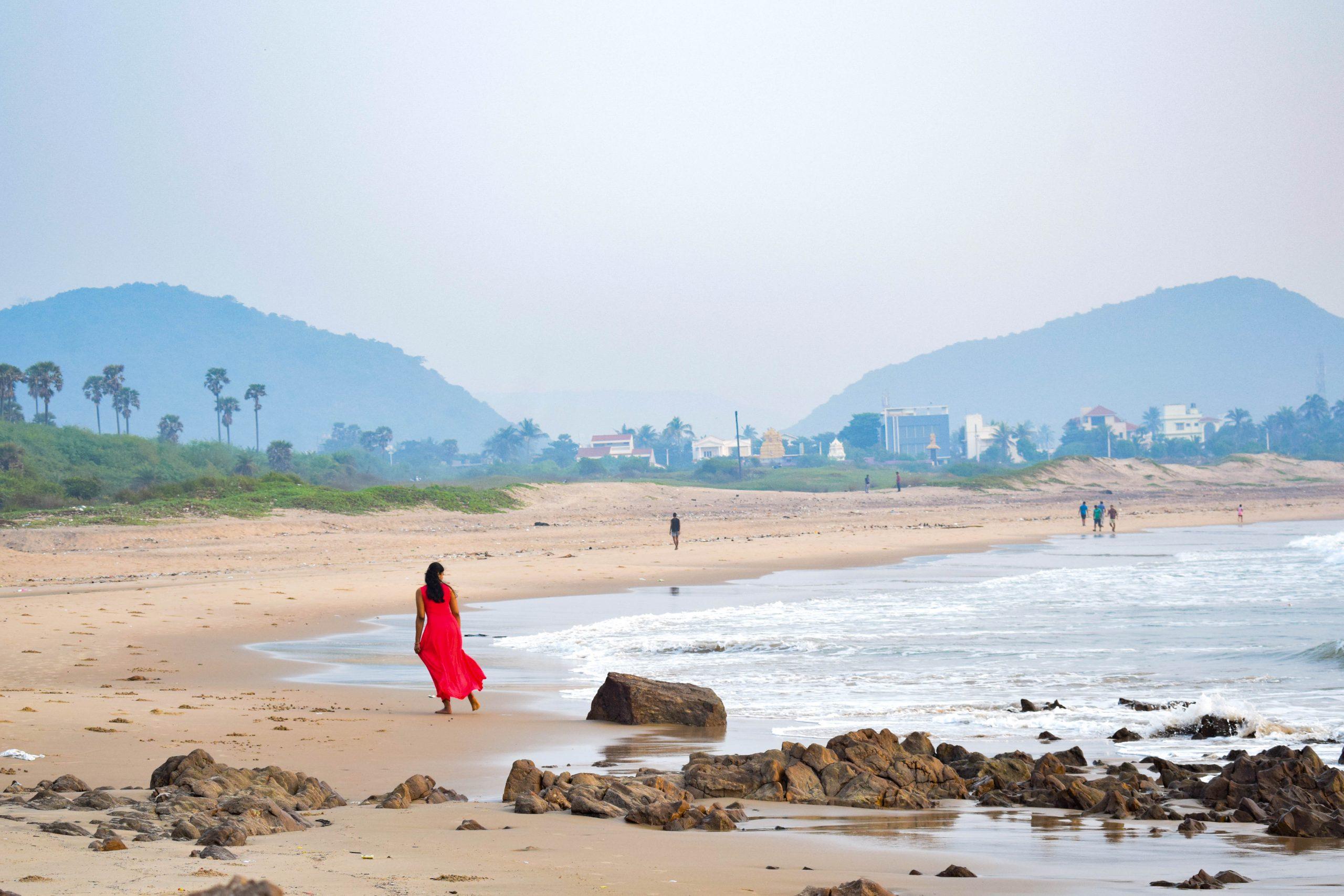 Rushikonda beach in Andhra Pradesh