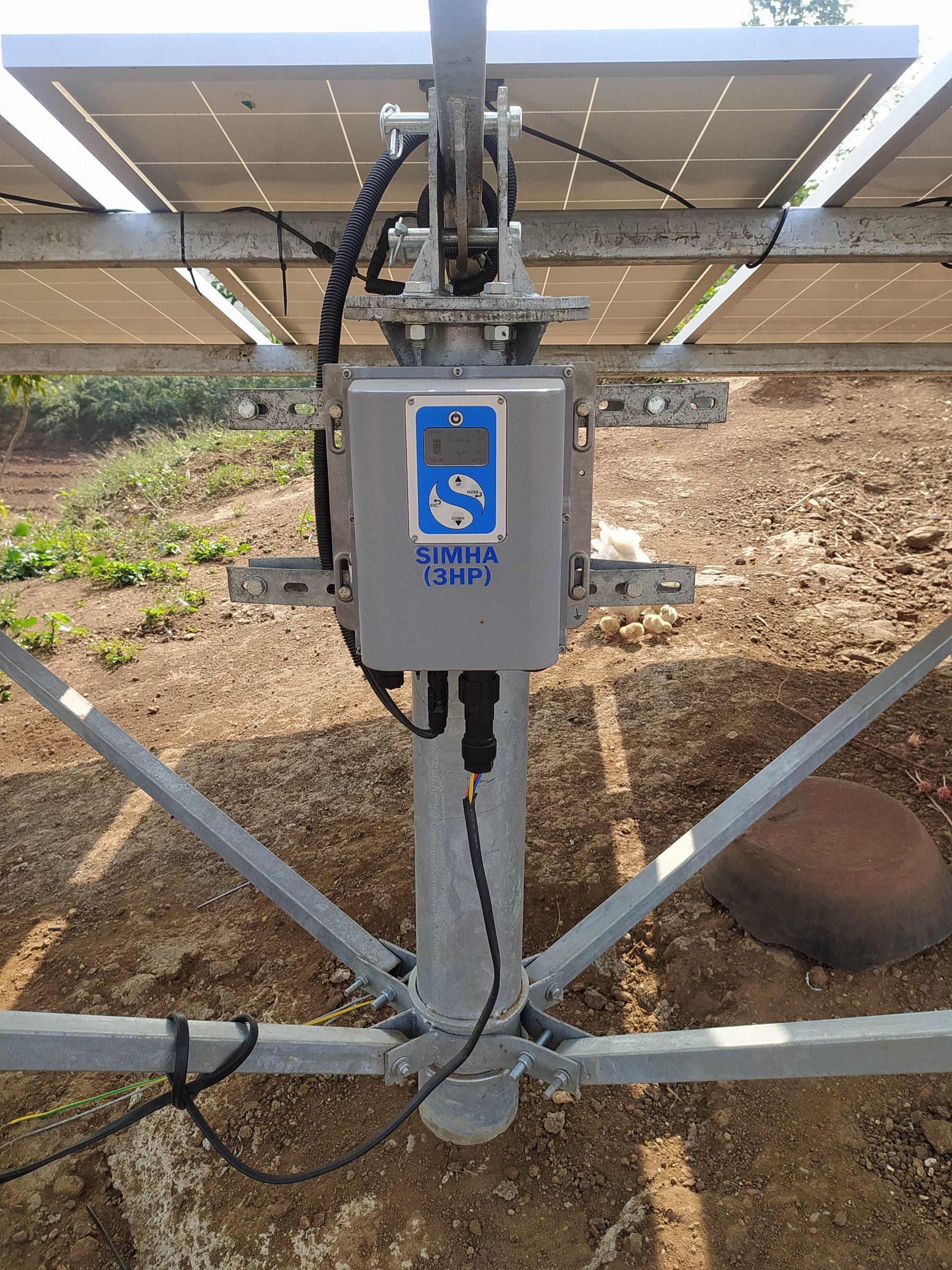 Solar panel machine