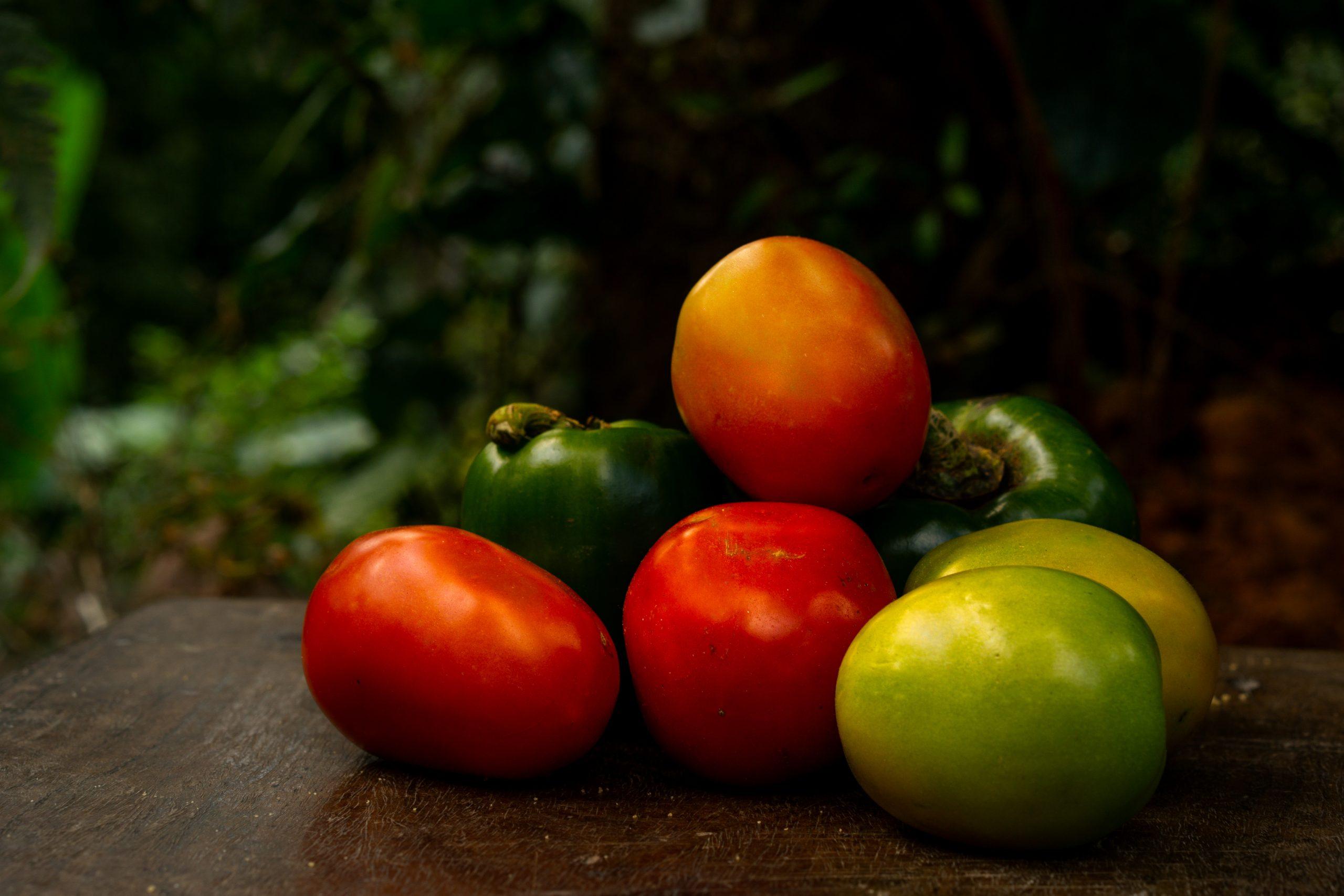 Stacked Fresh Vegetables