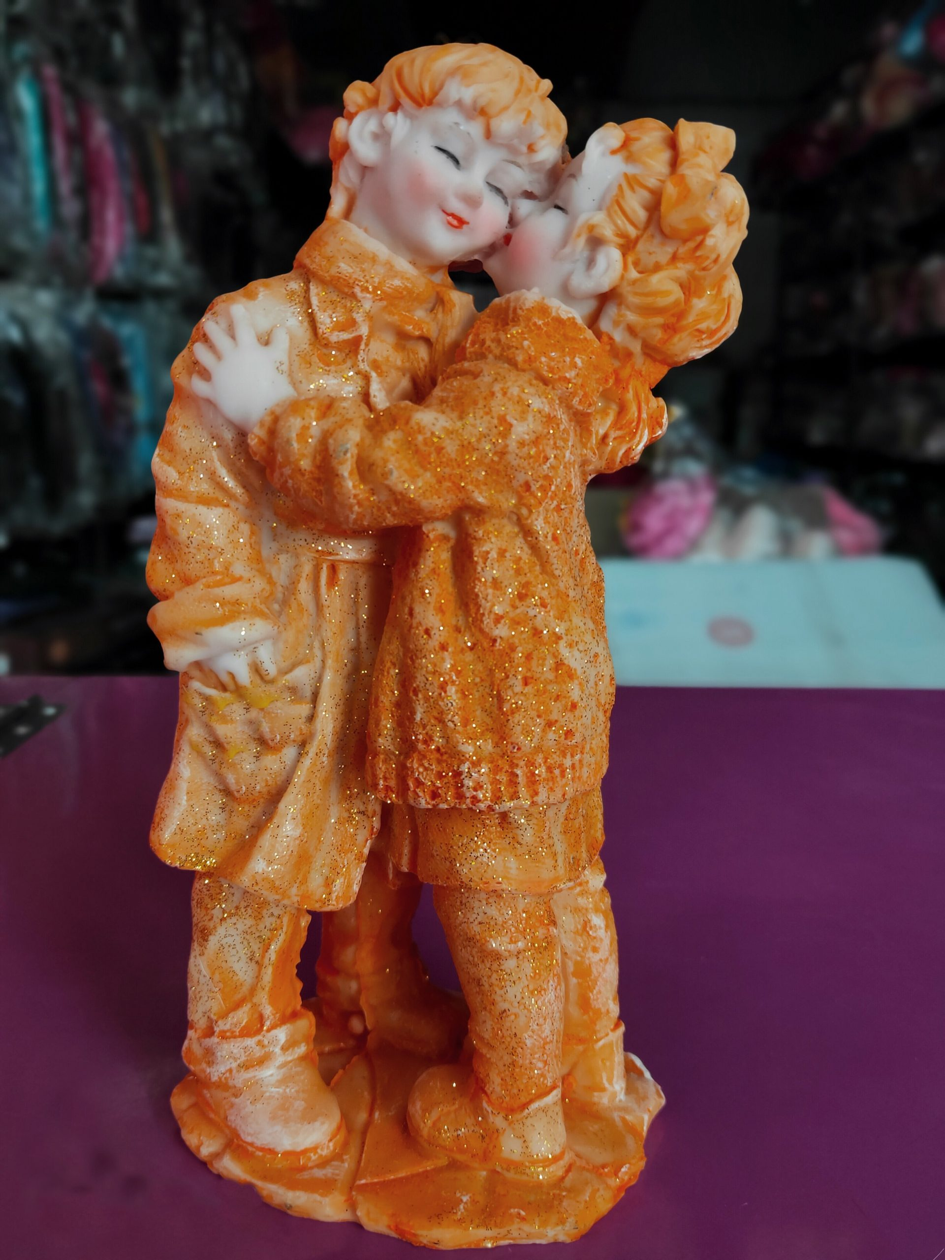 Statues of a couple