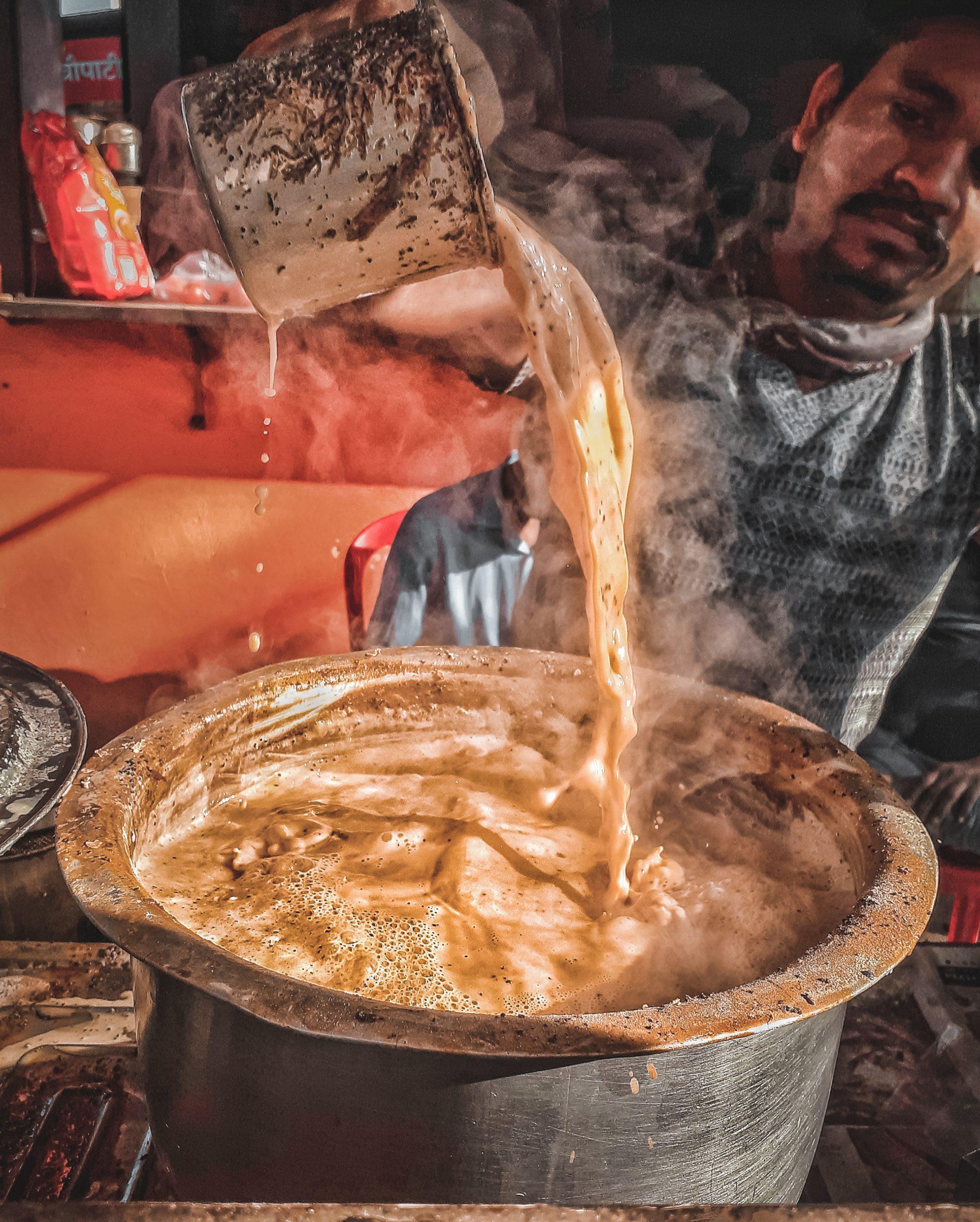 A tea maker