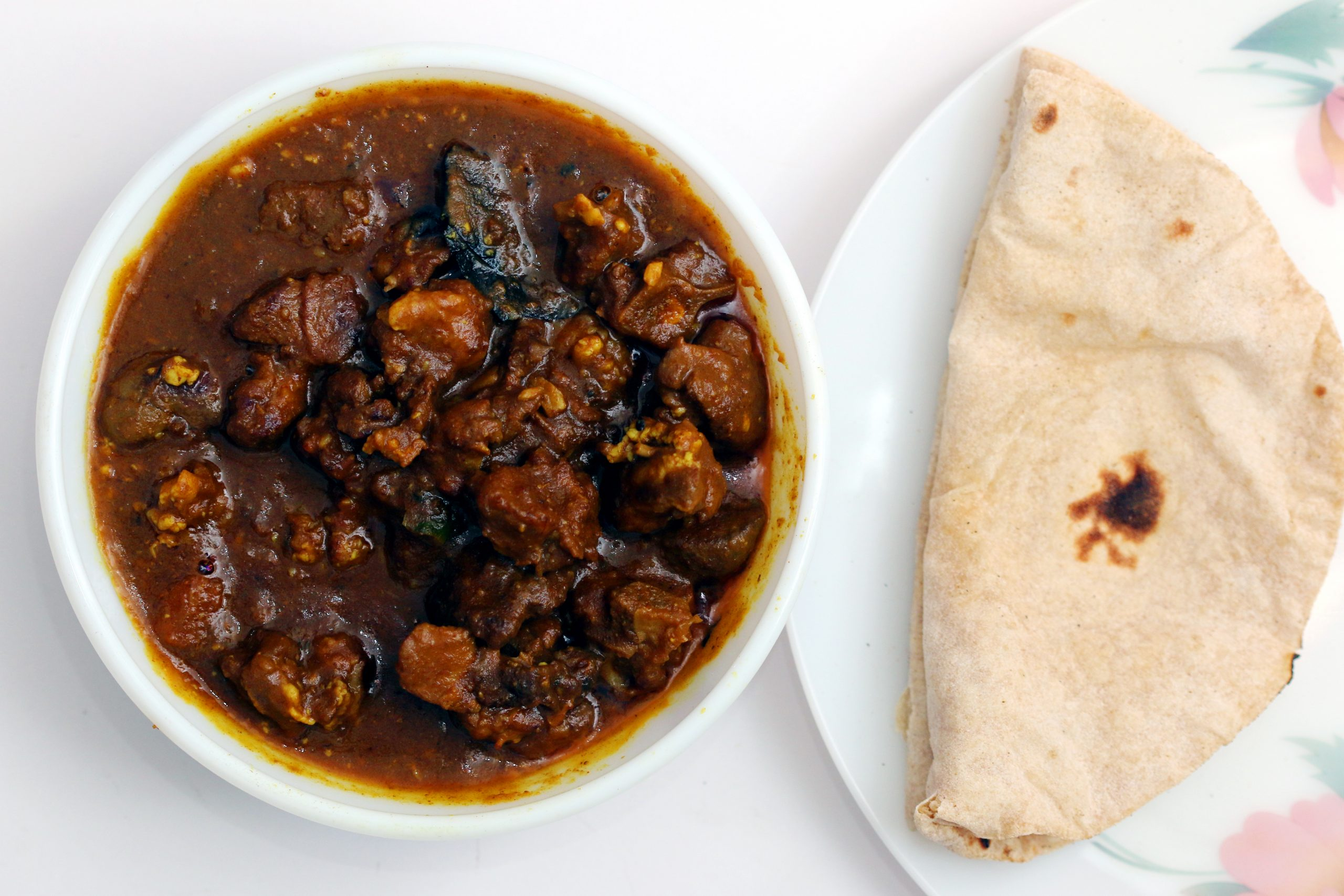 Mutton Curry & Bread