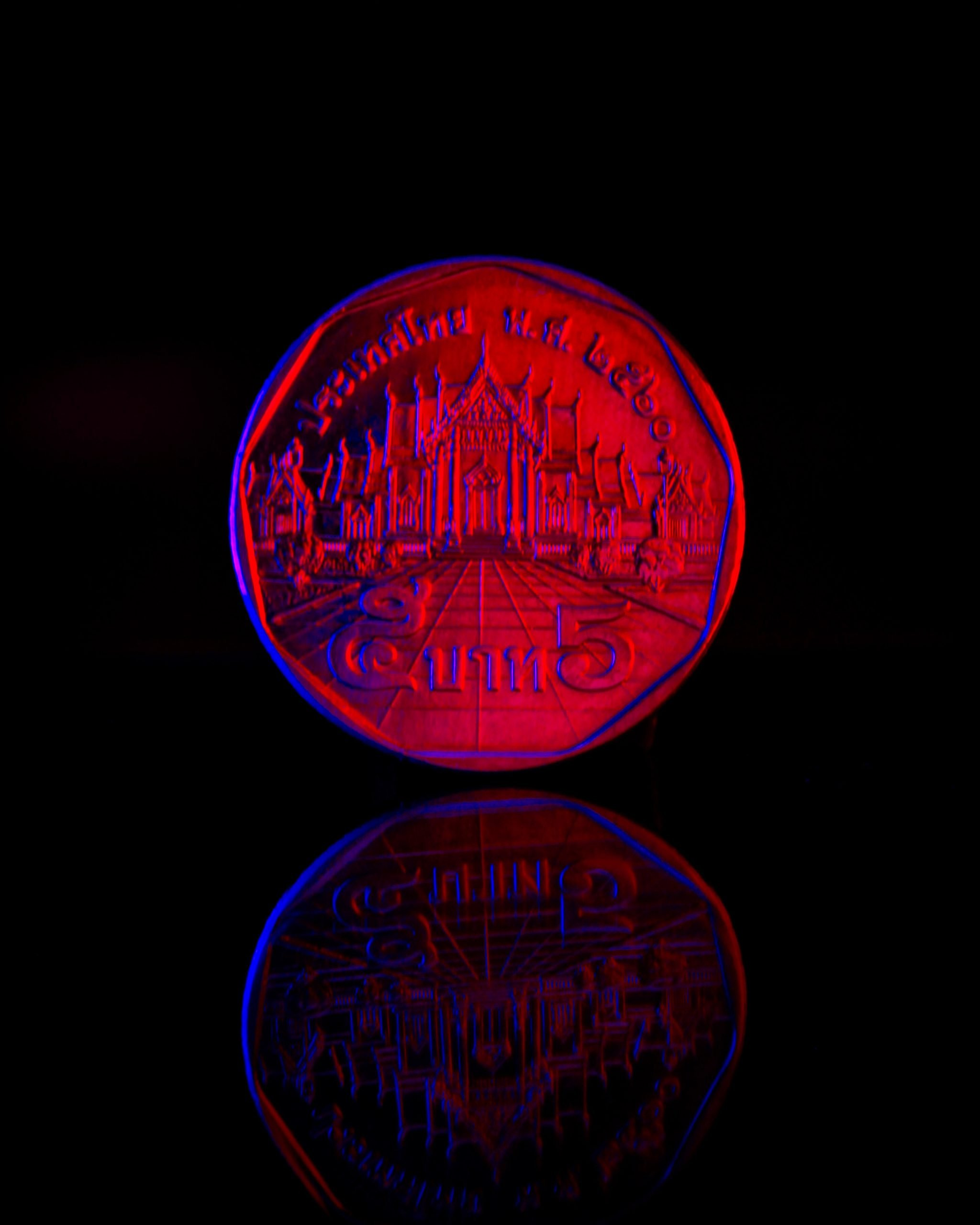 Thailand currency coin
