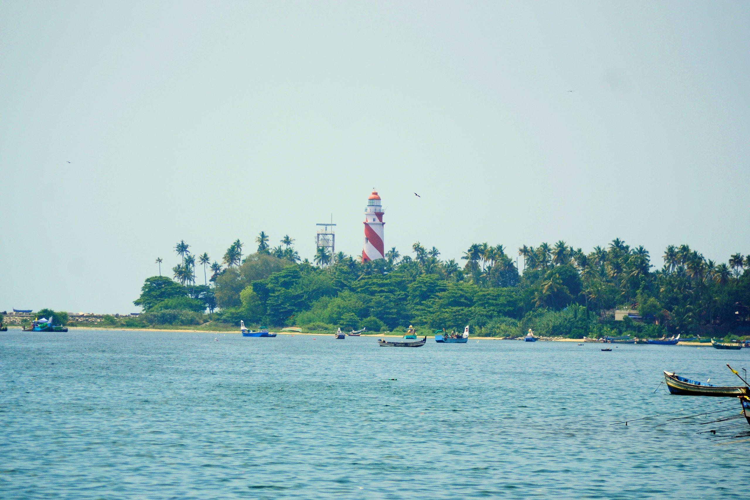 Thangassery Beach in Kerala