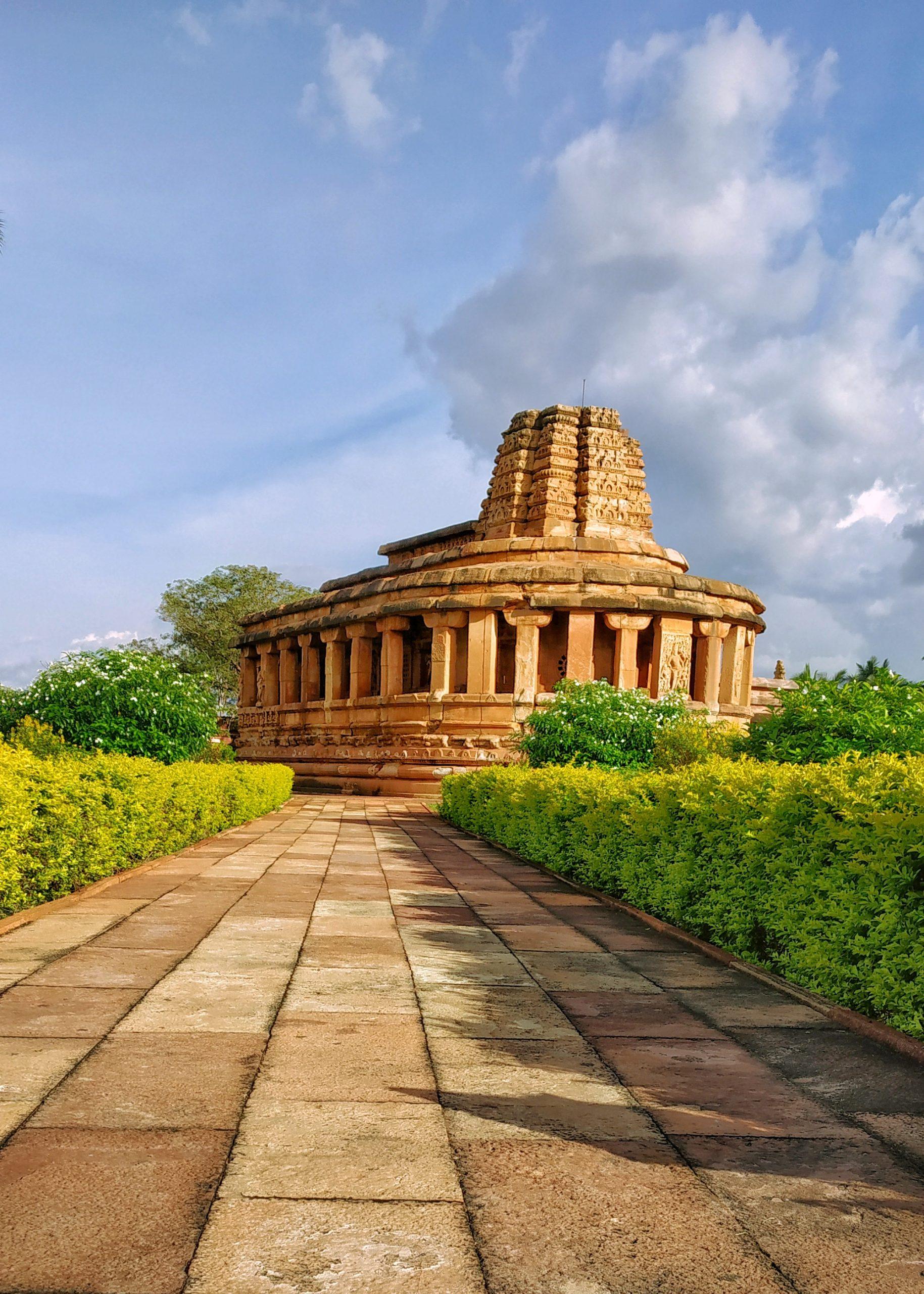 Durga Temple in Aihole, Karnataka