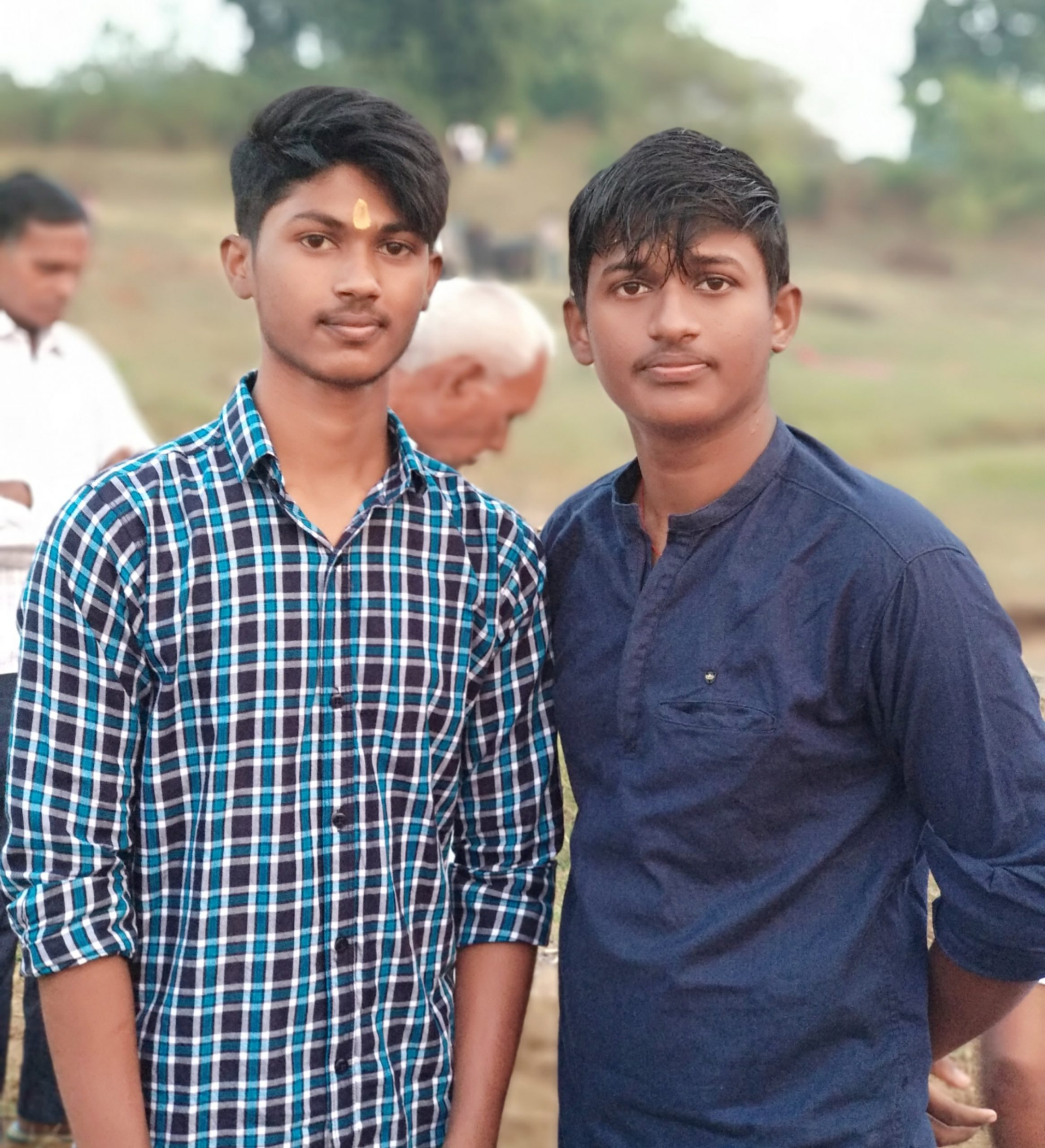 Two Indian brothers
