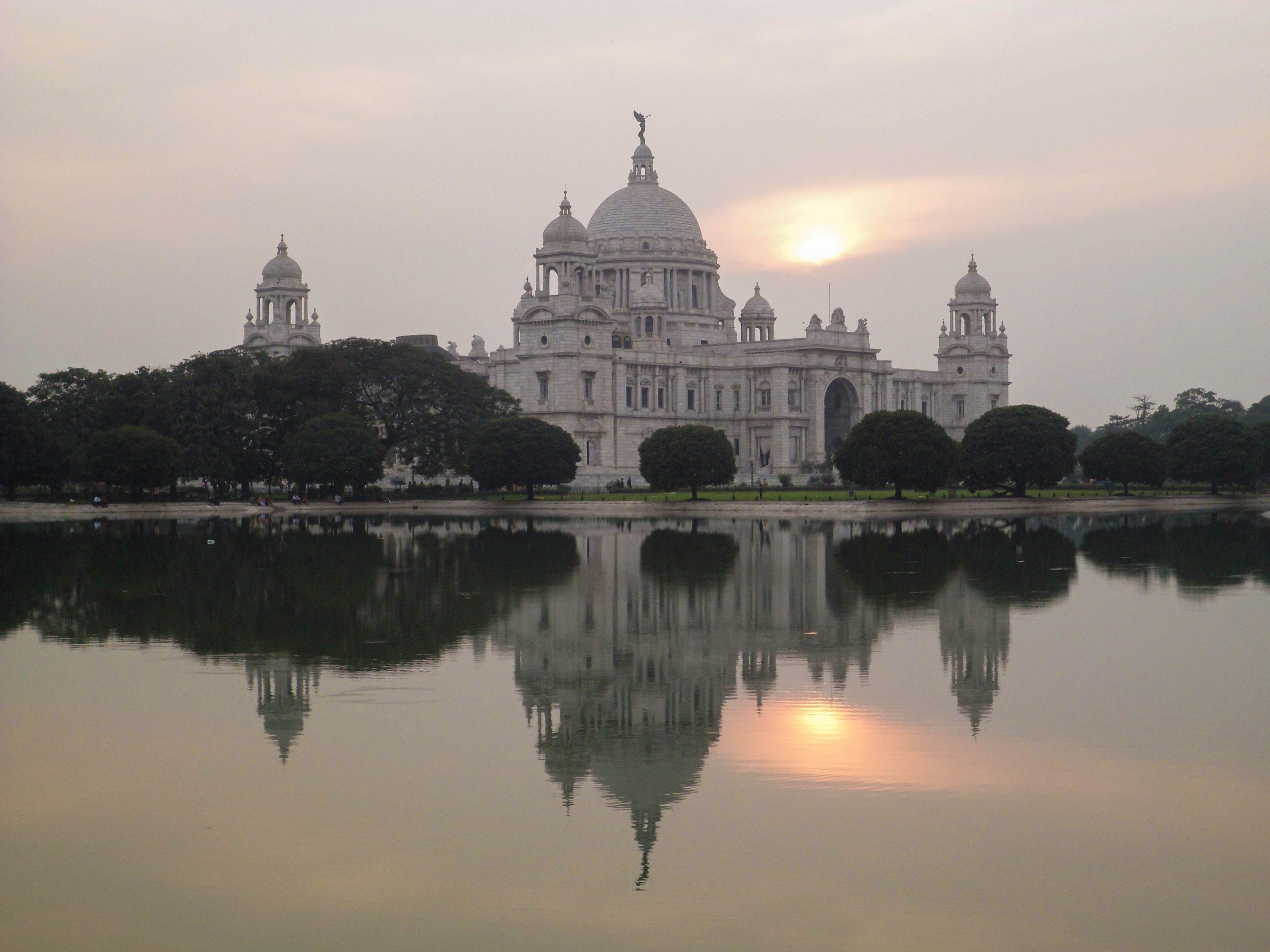 Victoria Memorial building in Kolkata