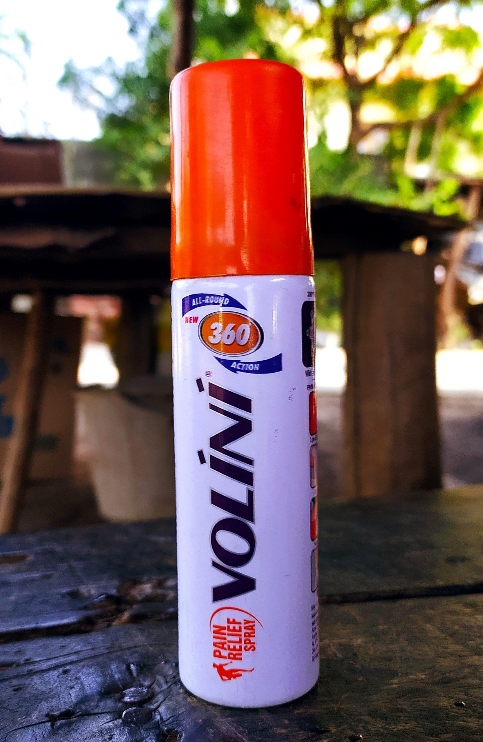 Volini spray bottle
