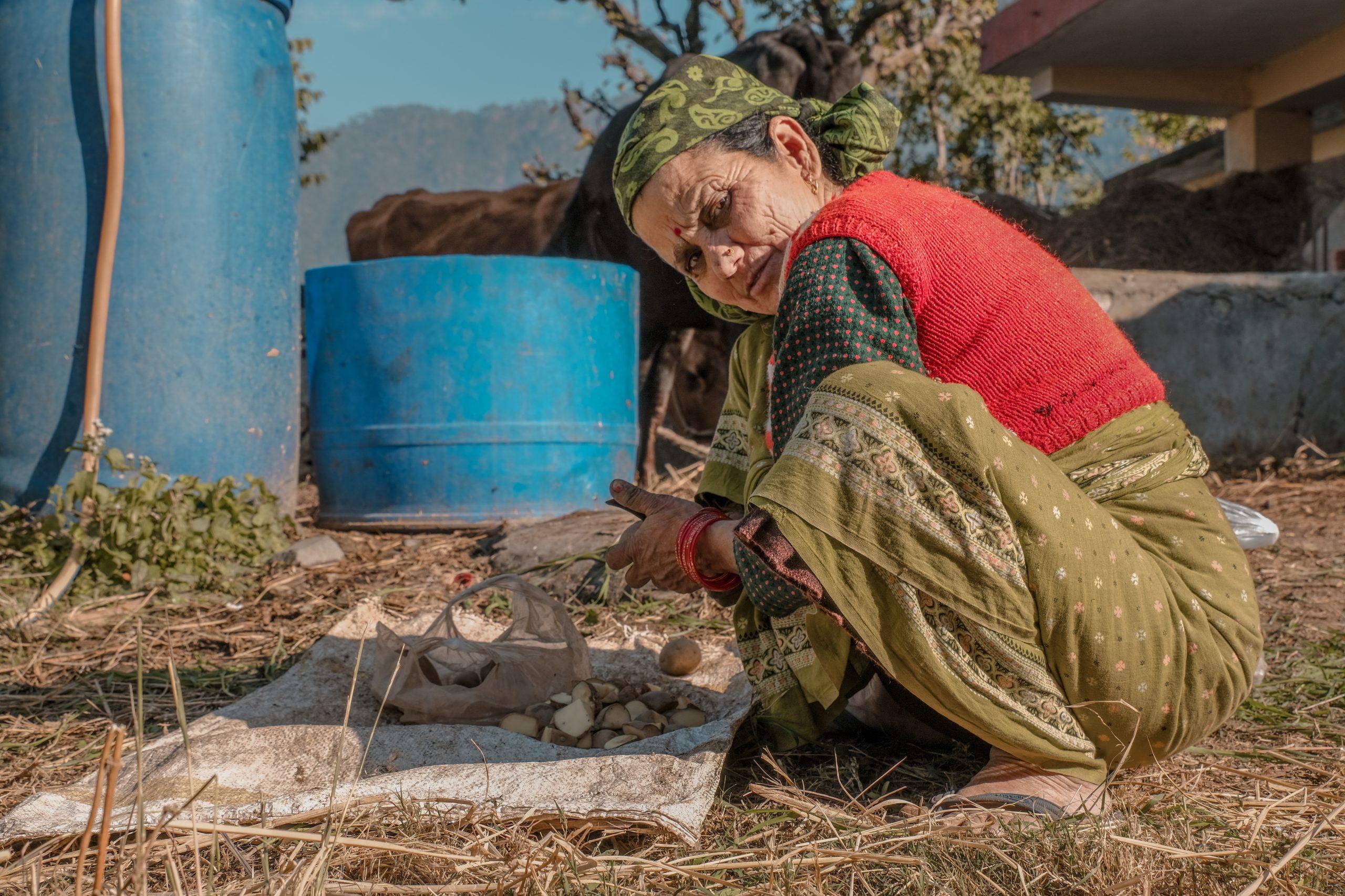 A village woman