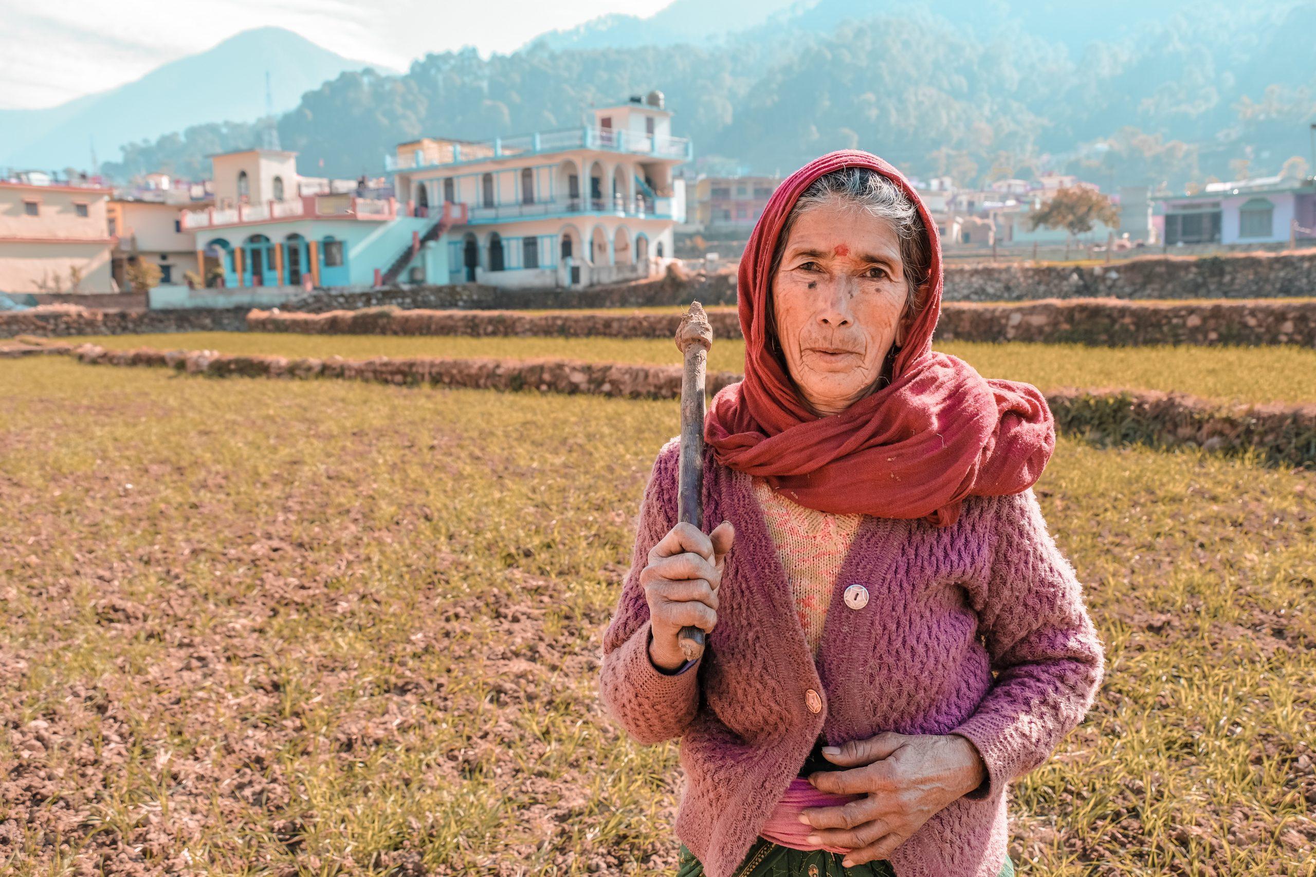 farmer working in the field