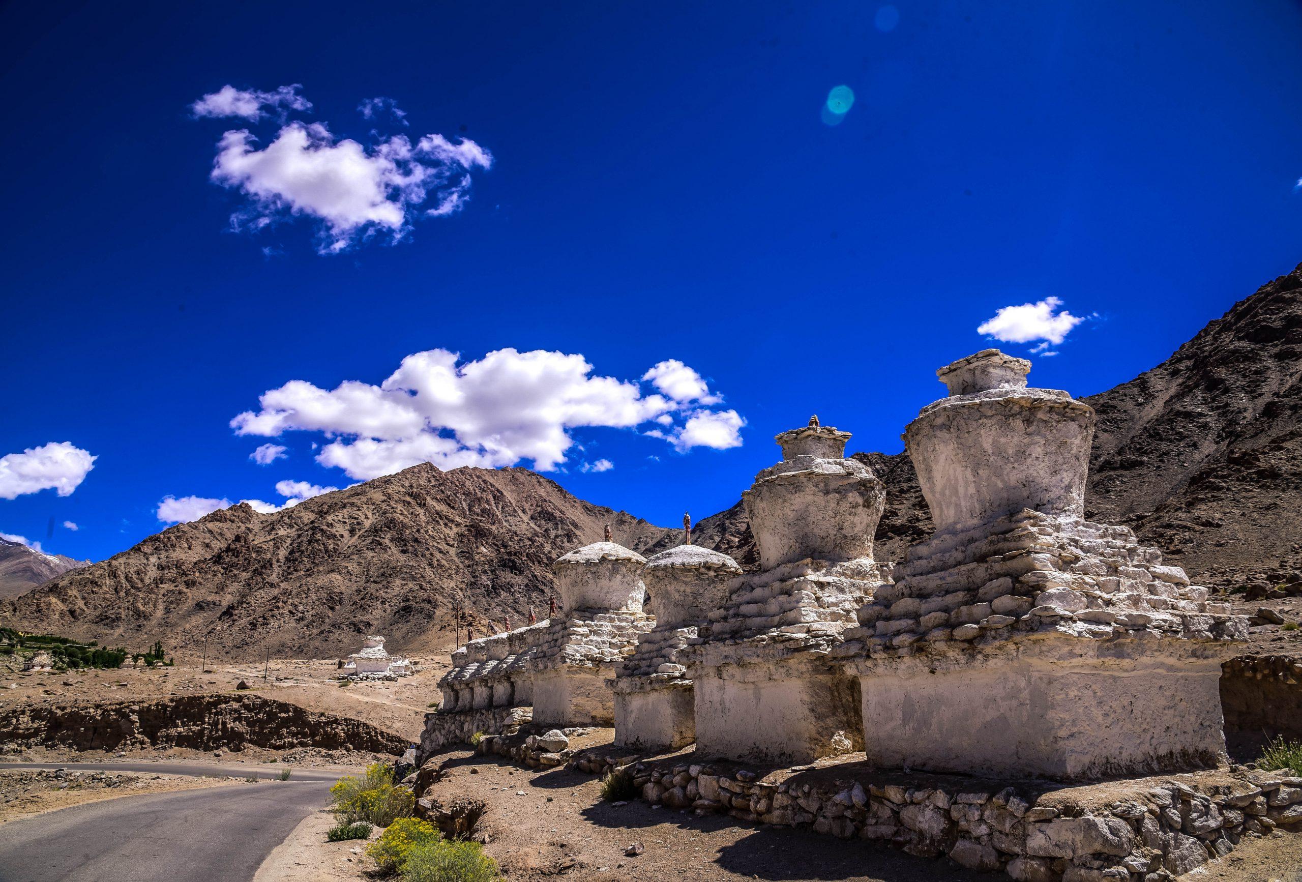 Buddhist Gompa in Leh Ladakh