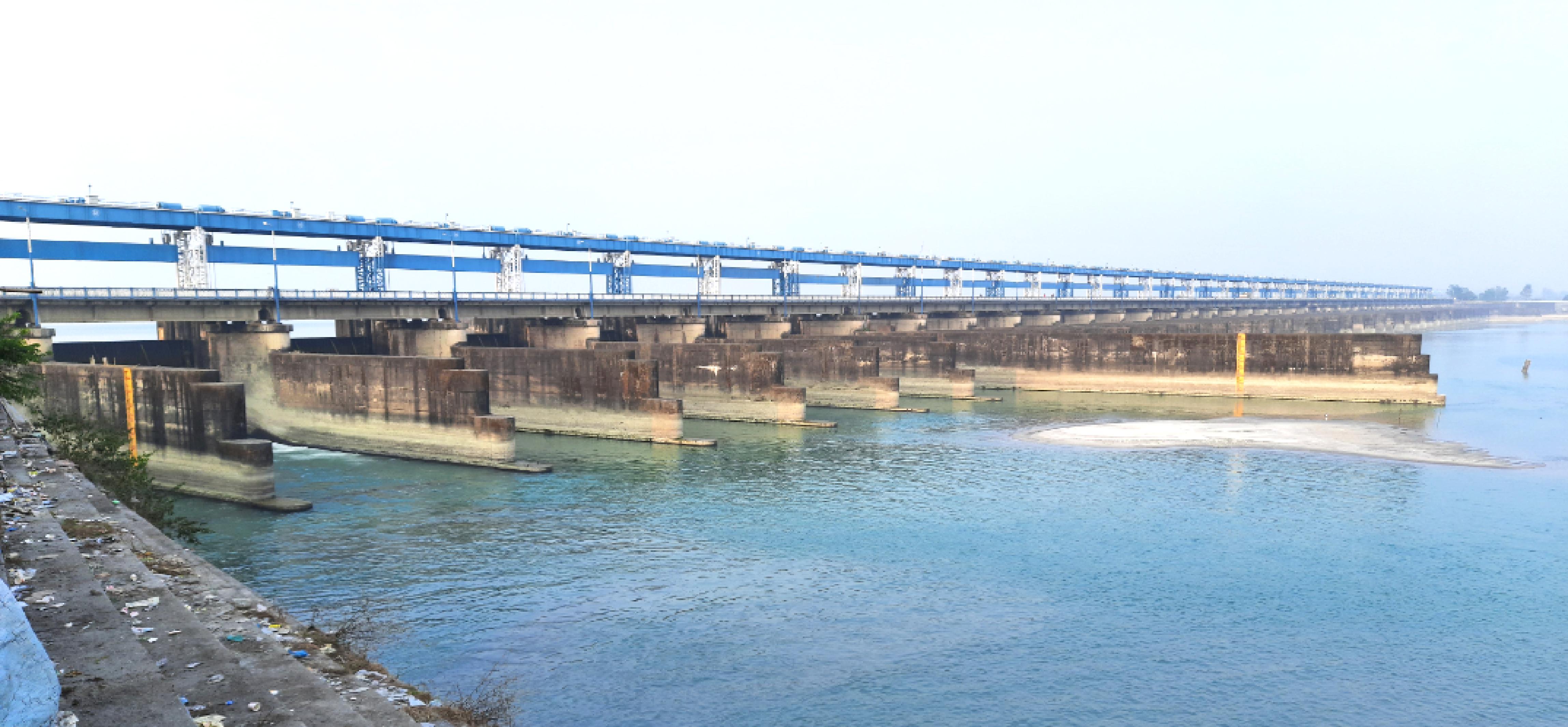 Tista river barrage