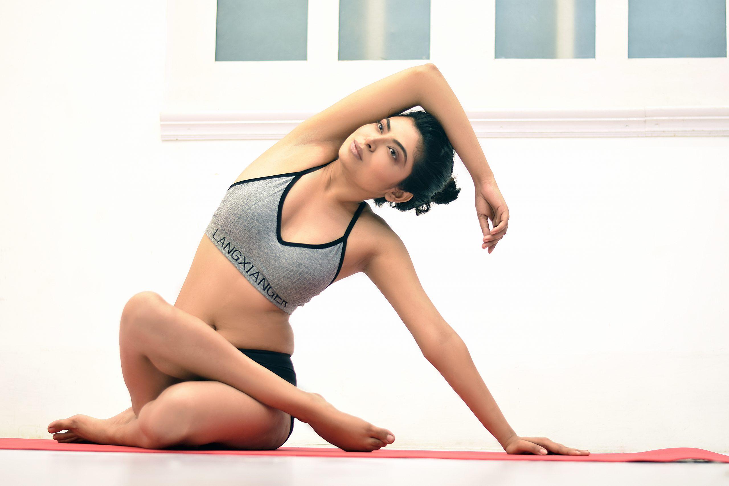A Yoga girl