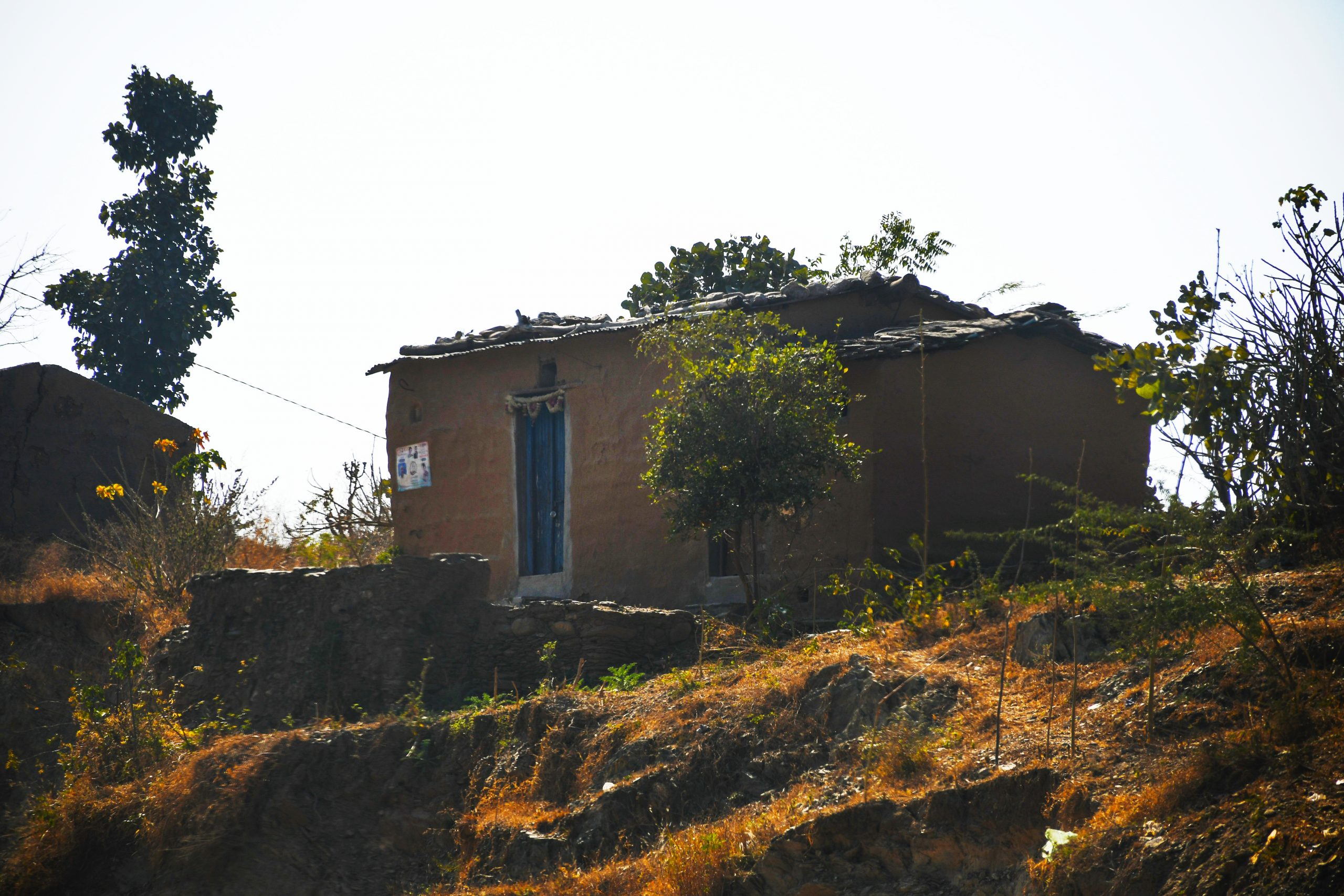A house in a village