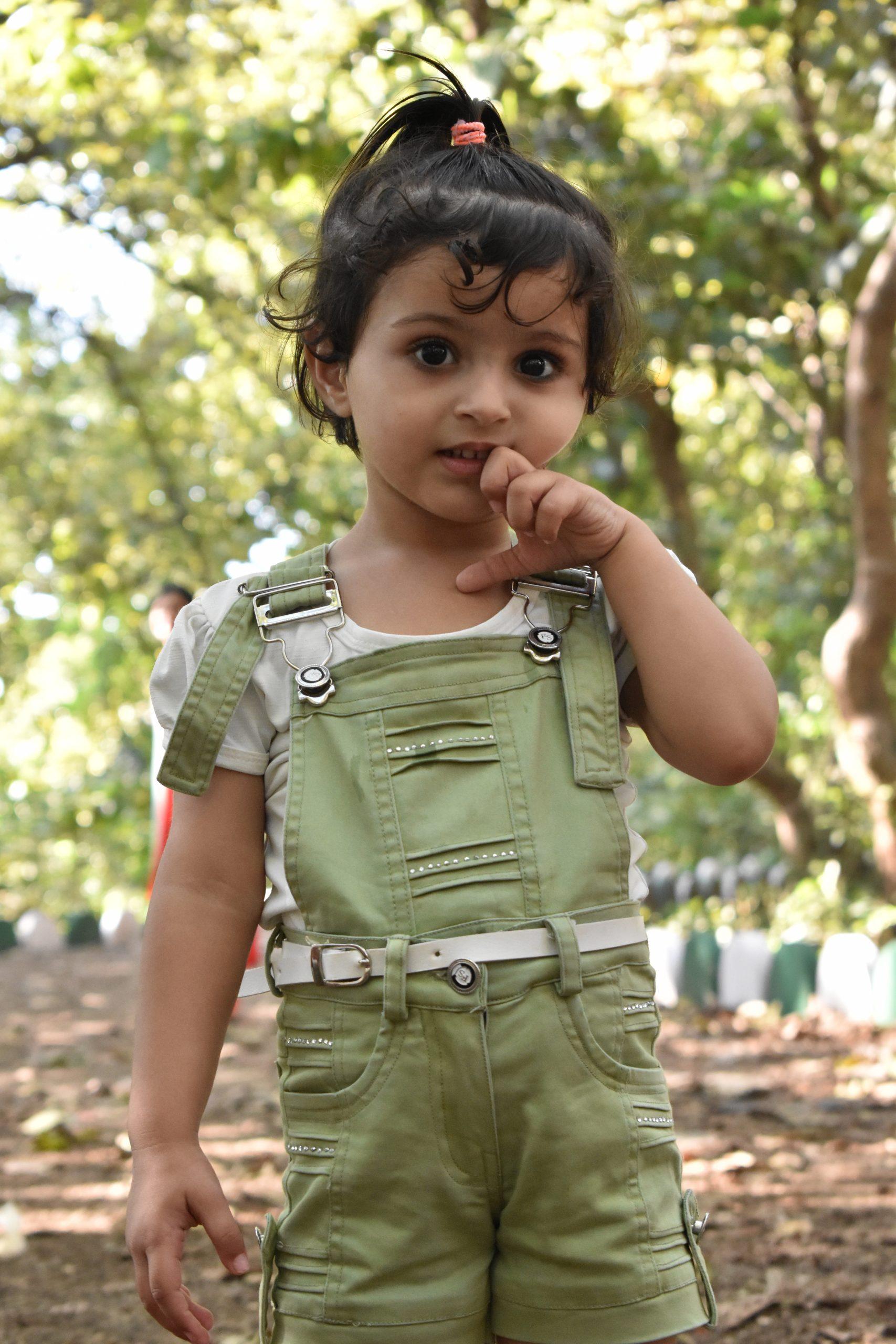 A little cute girl