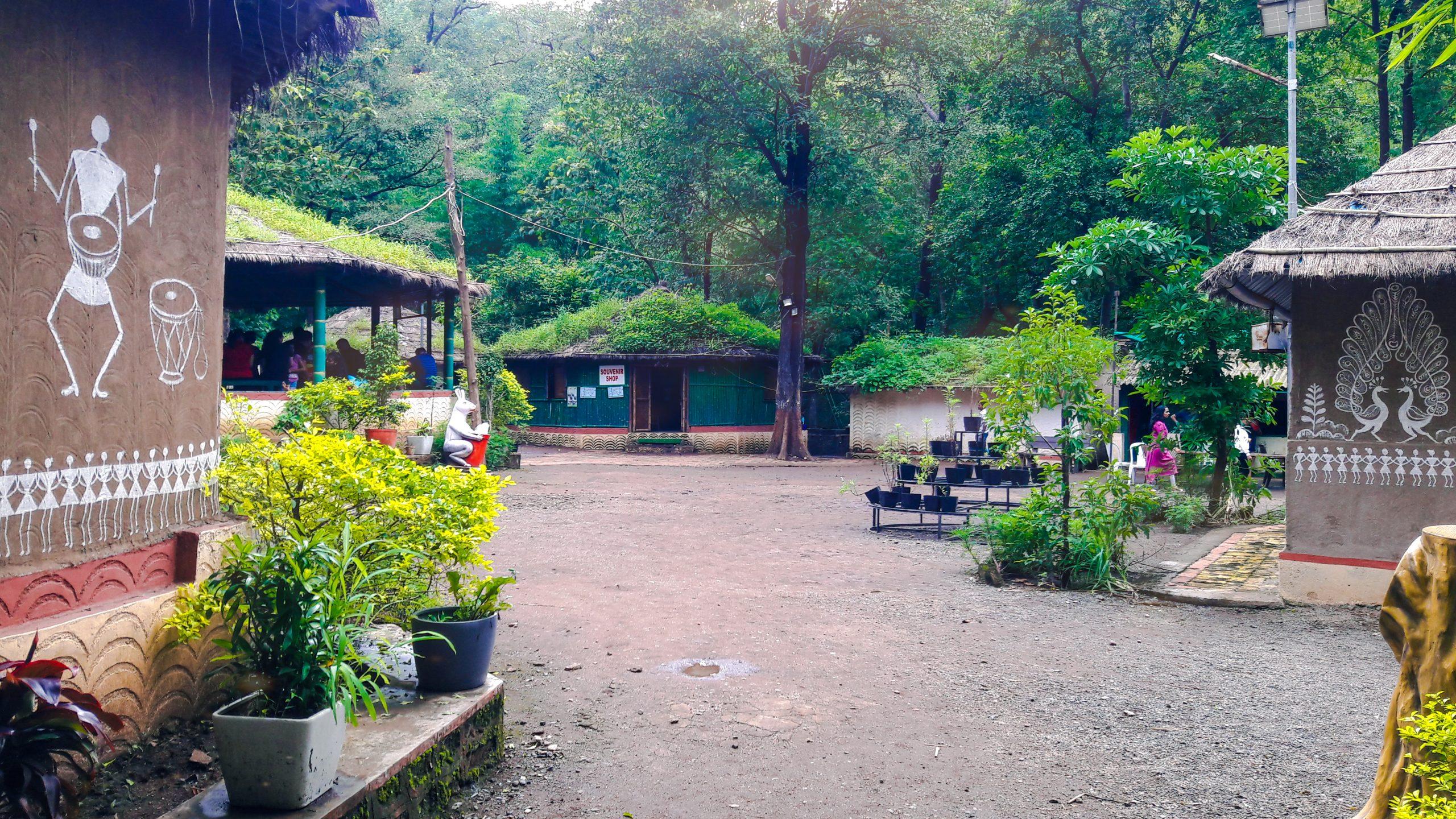 A small village in a jungle