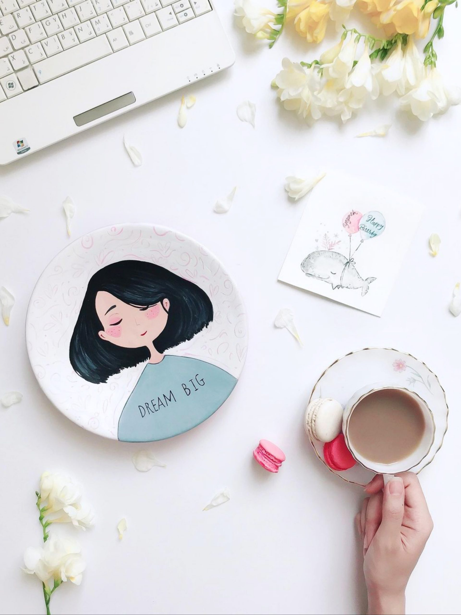 A teacup