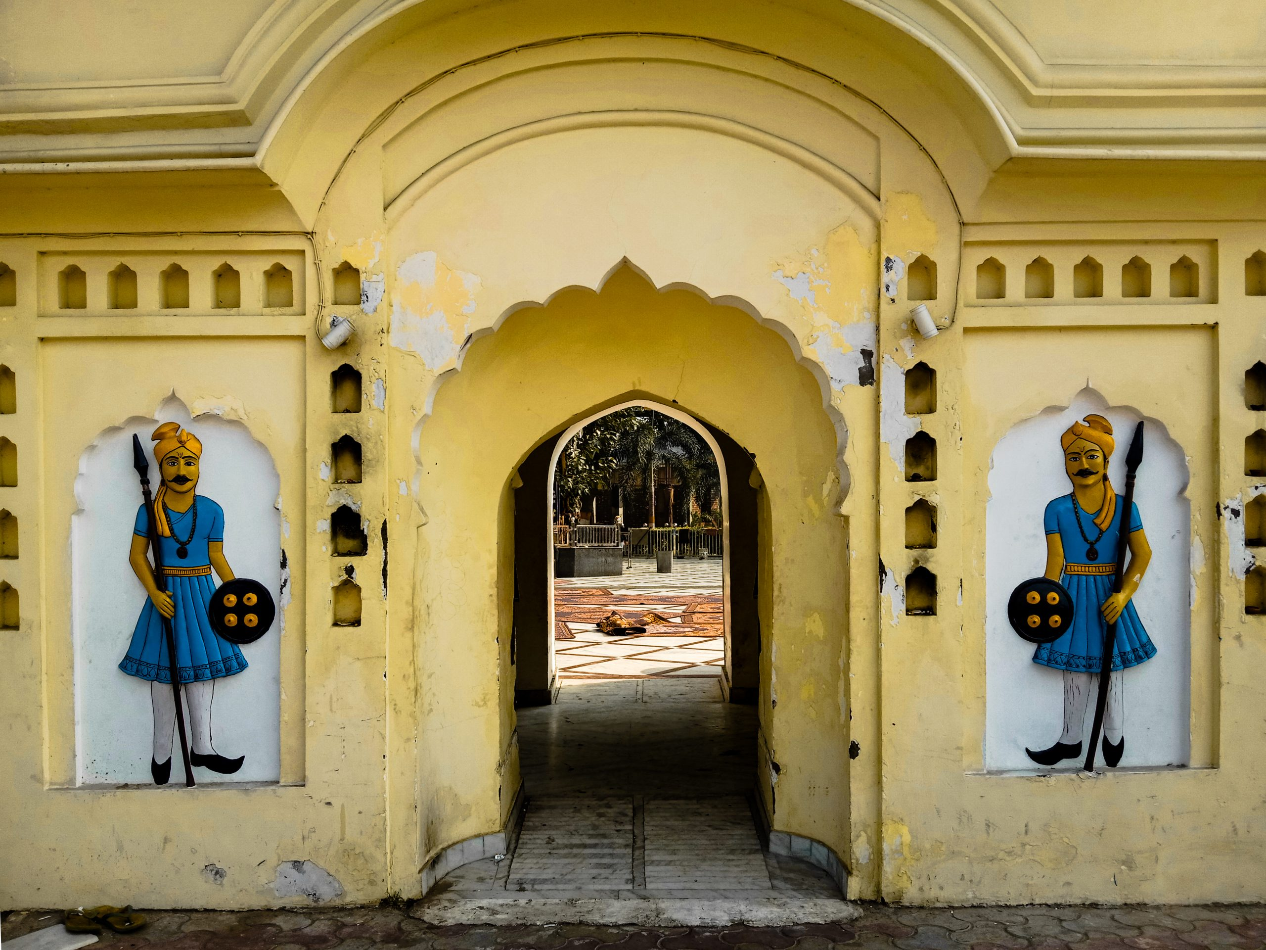 Entrance of a temple