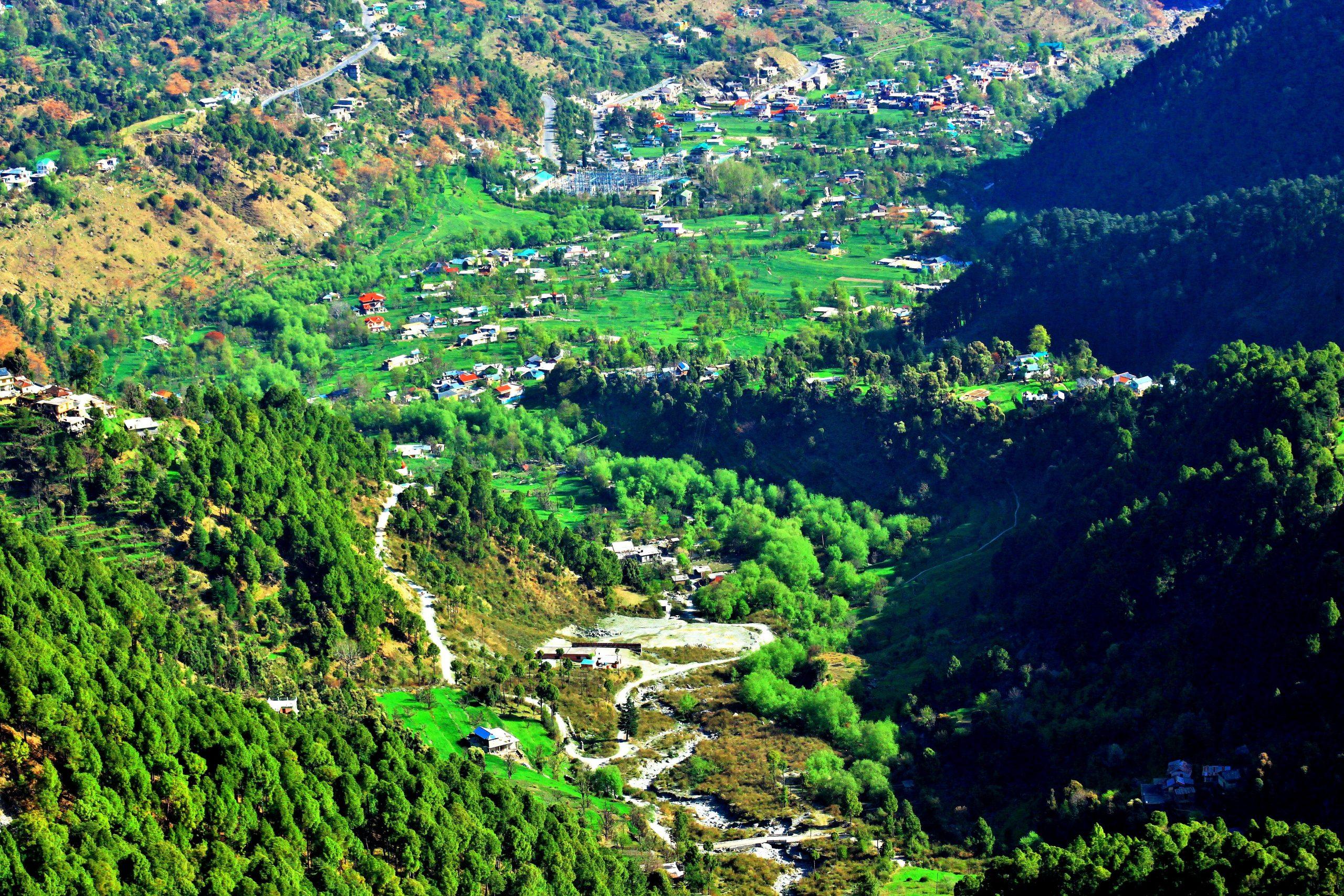 A valley in Shimla