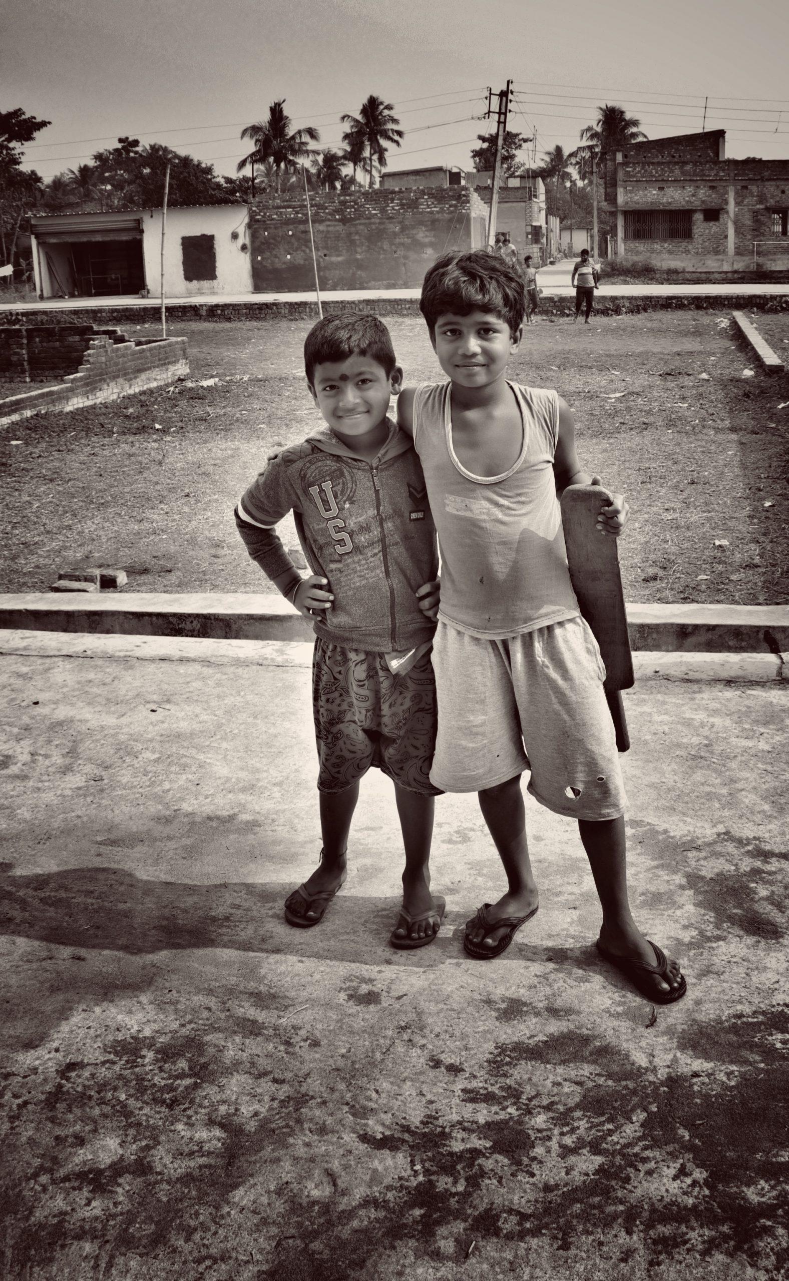 A village kids