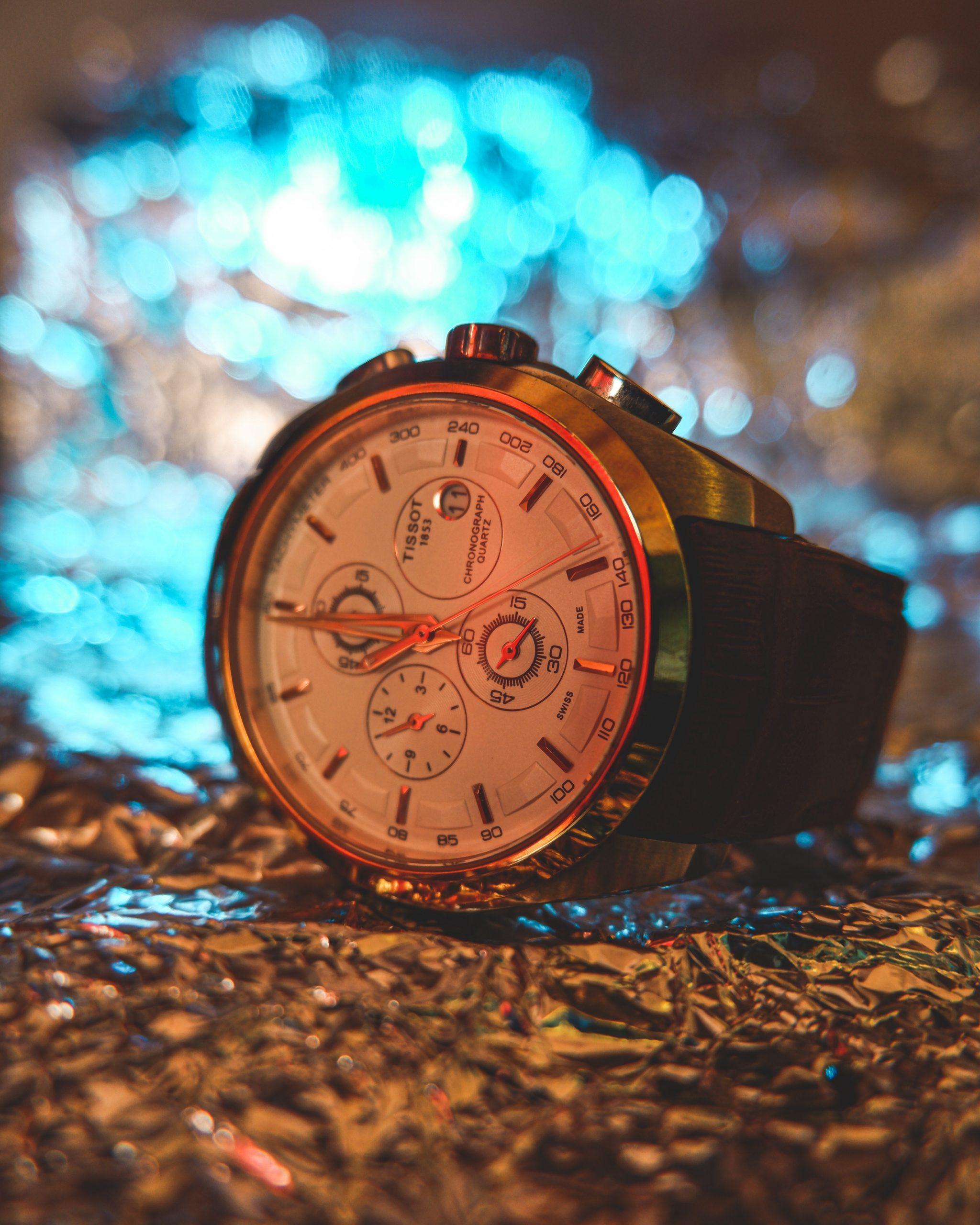 A wrist watch