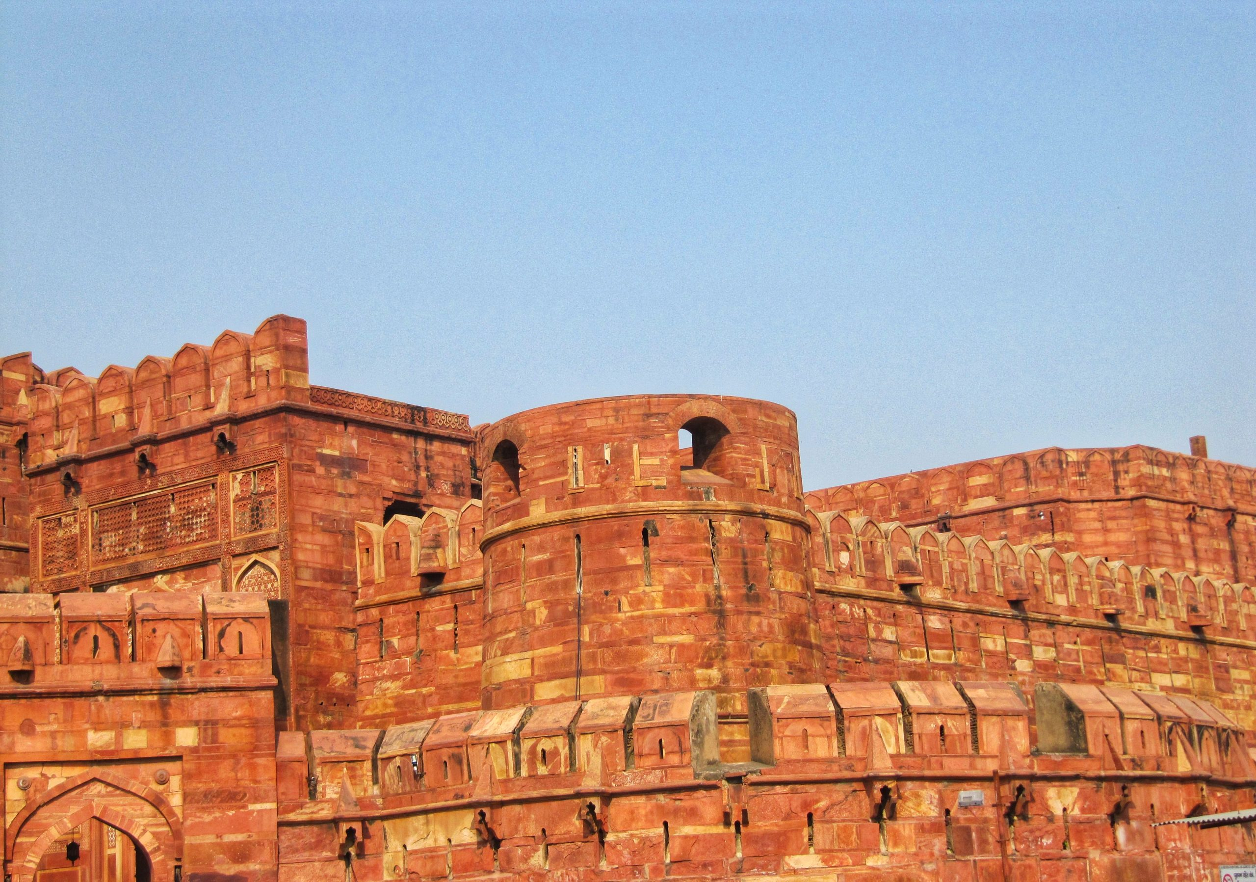 Agra fort of Mughal Dynasty