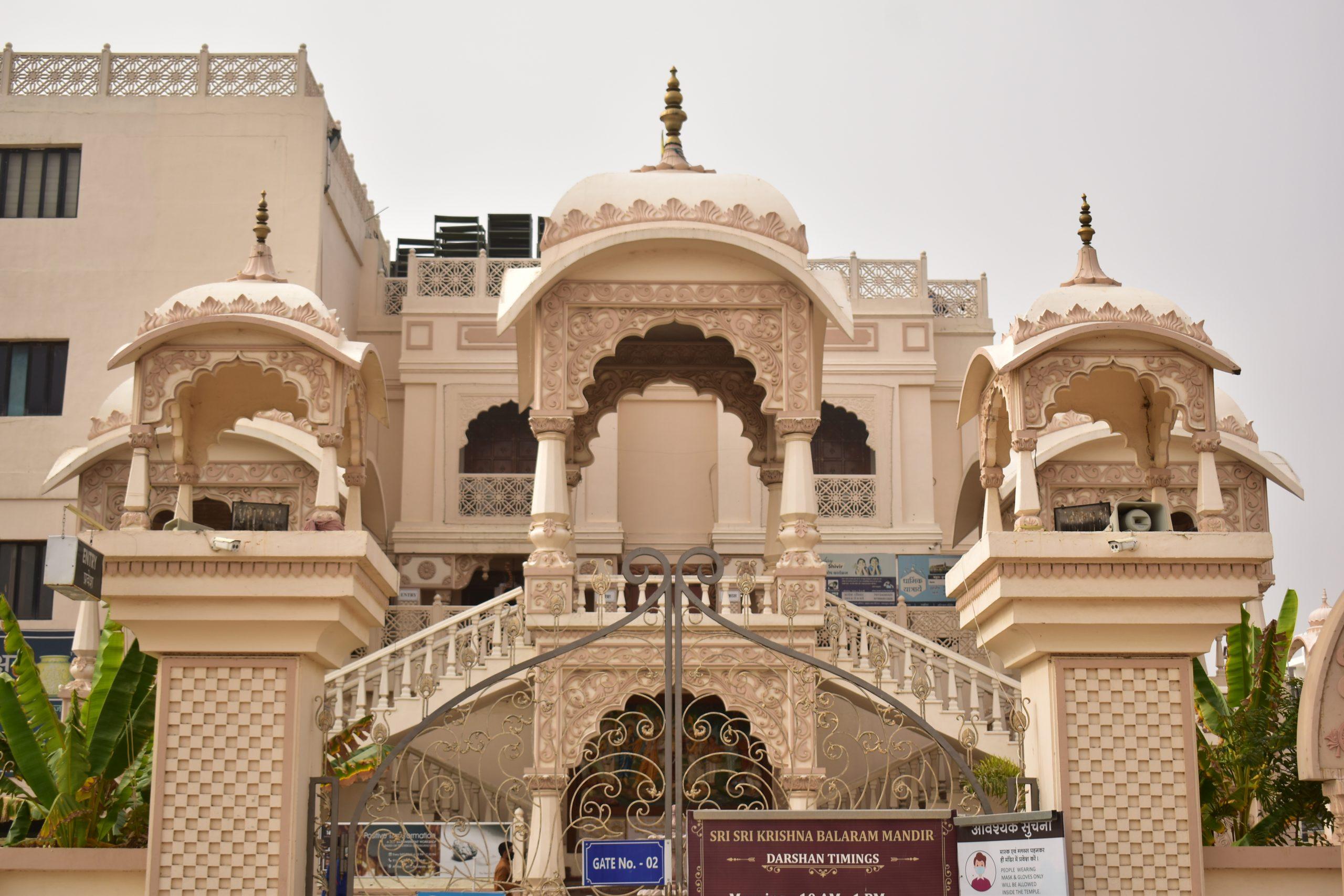 Akshay Patra temple in Vrindavan