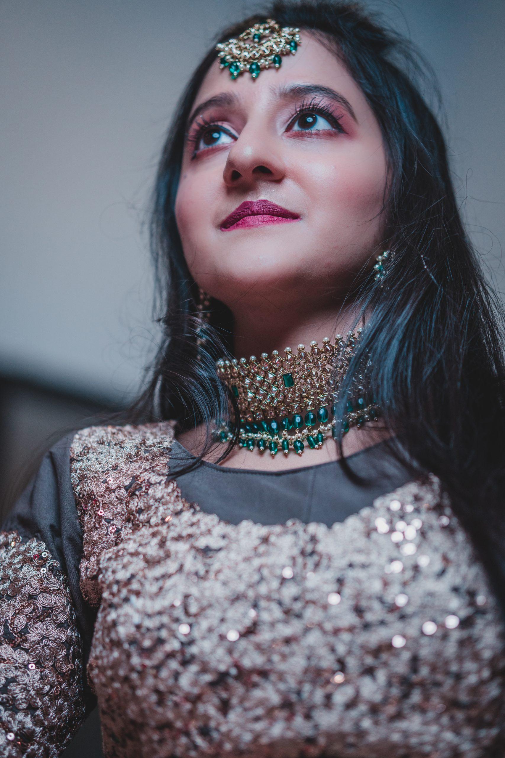 An Indian girl