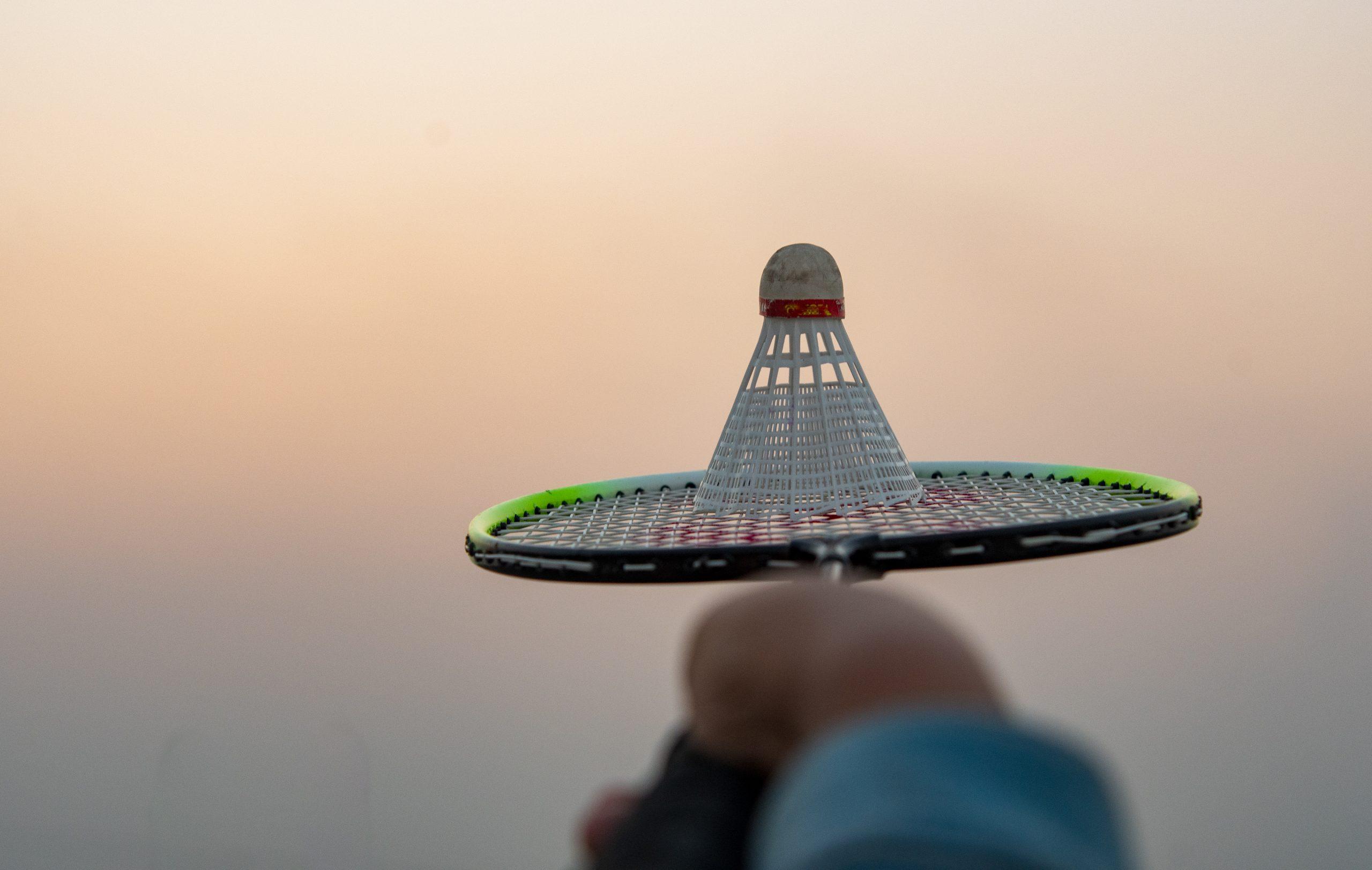 Shuttle on Badminton