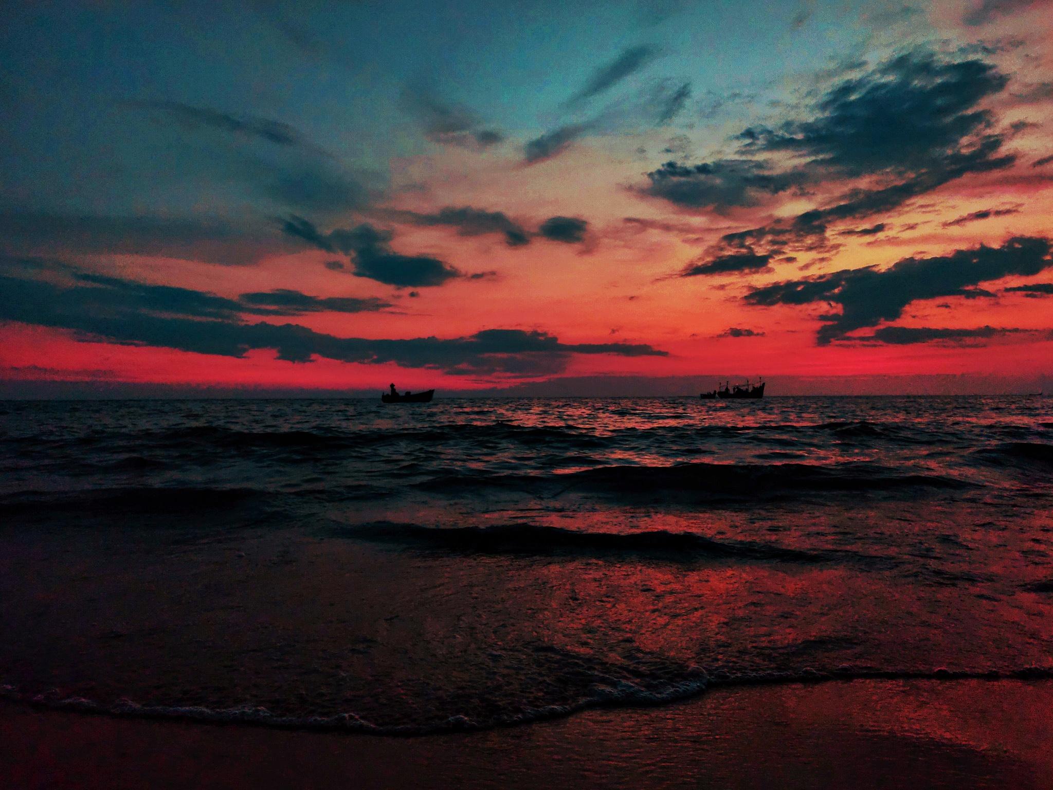 sky at the beach