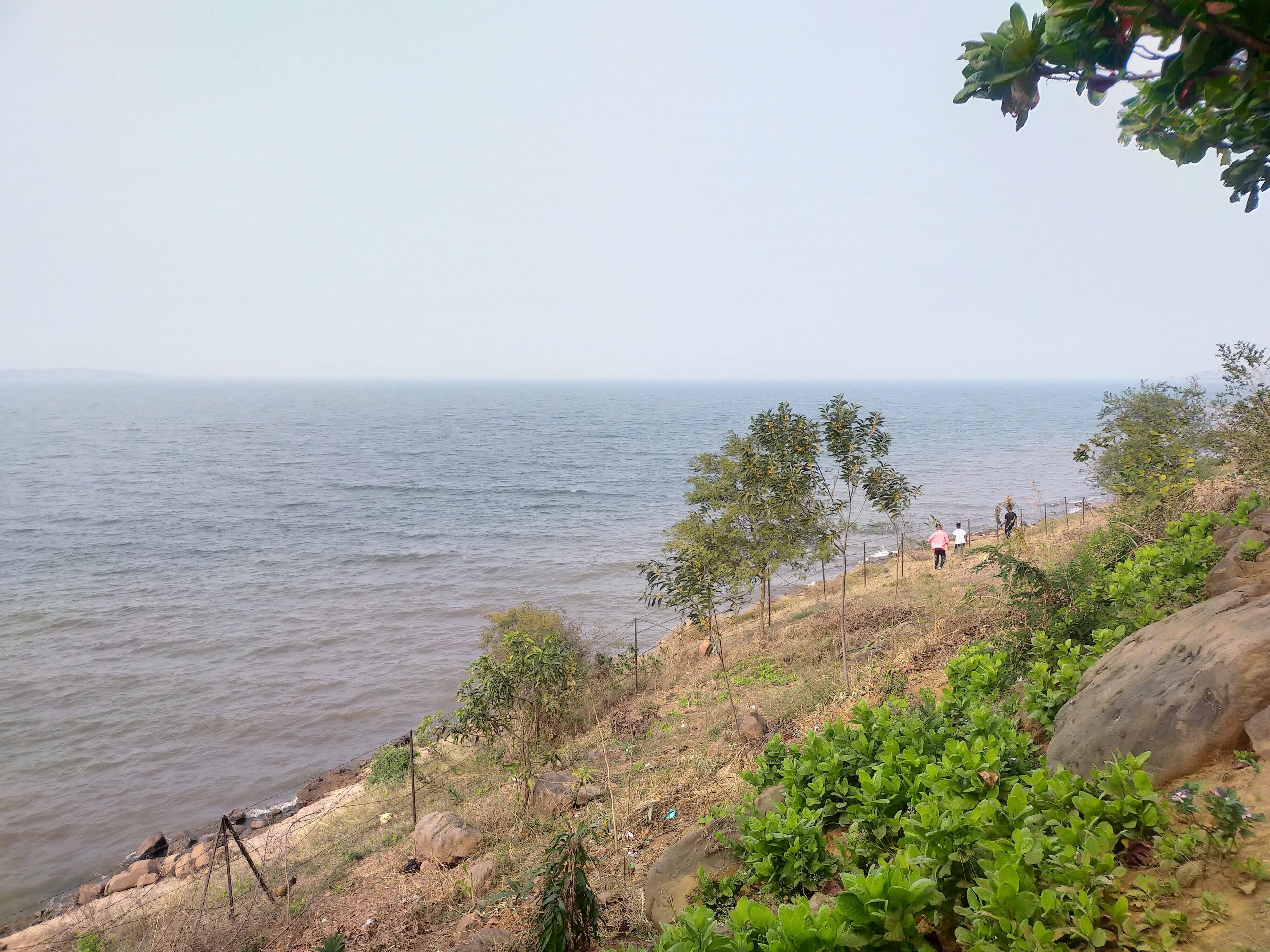 View of a beautiful beach side