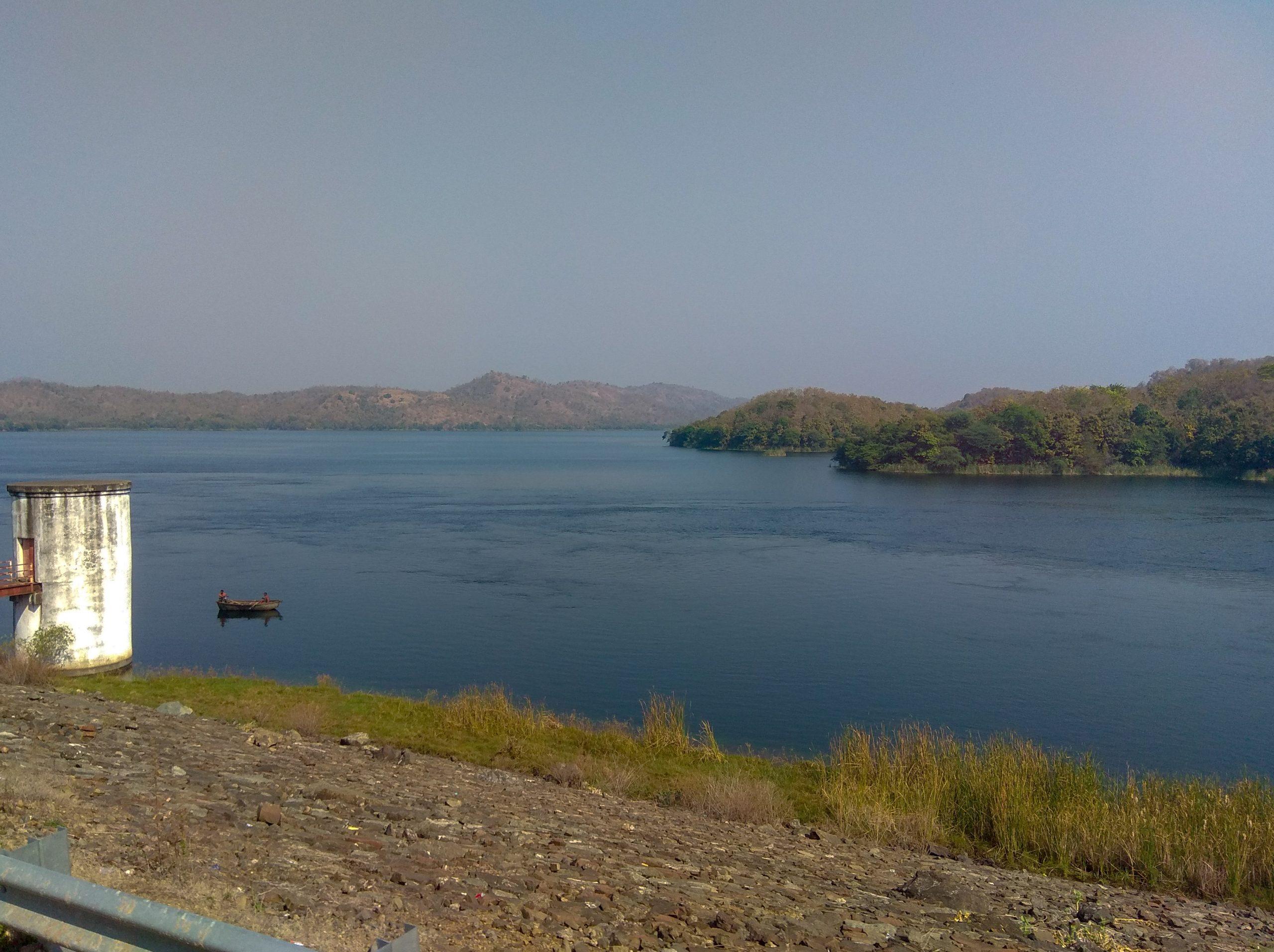 Dam landscape
