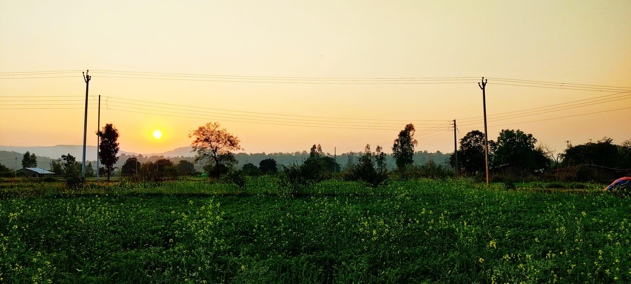 A sunset hour