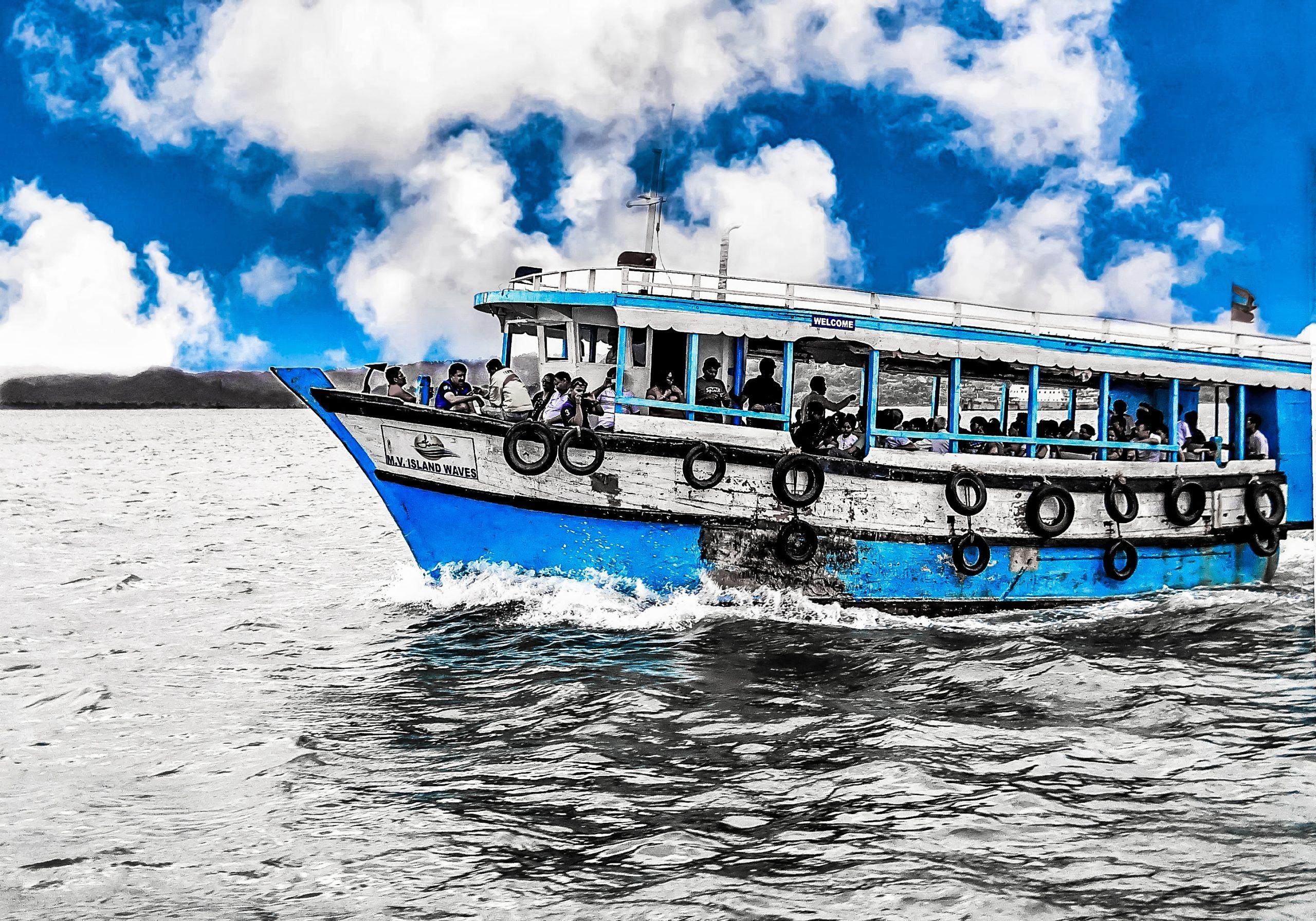 A passenger boat