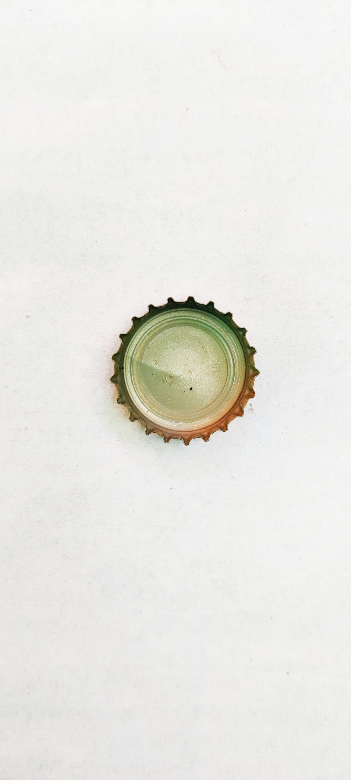 Portrait of a bottle cap