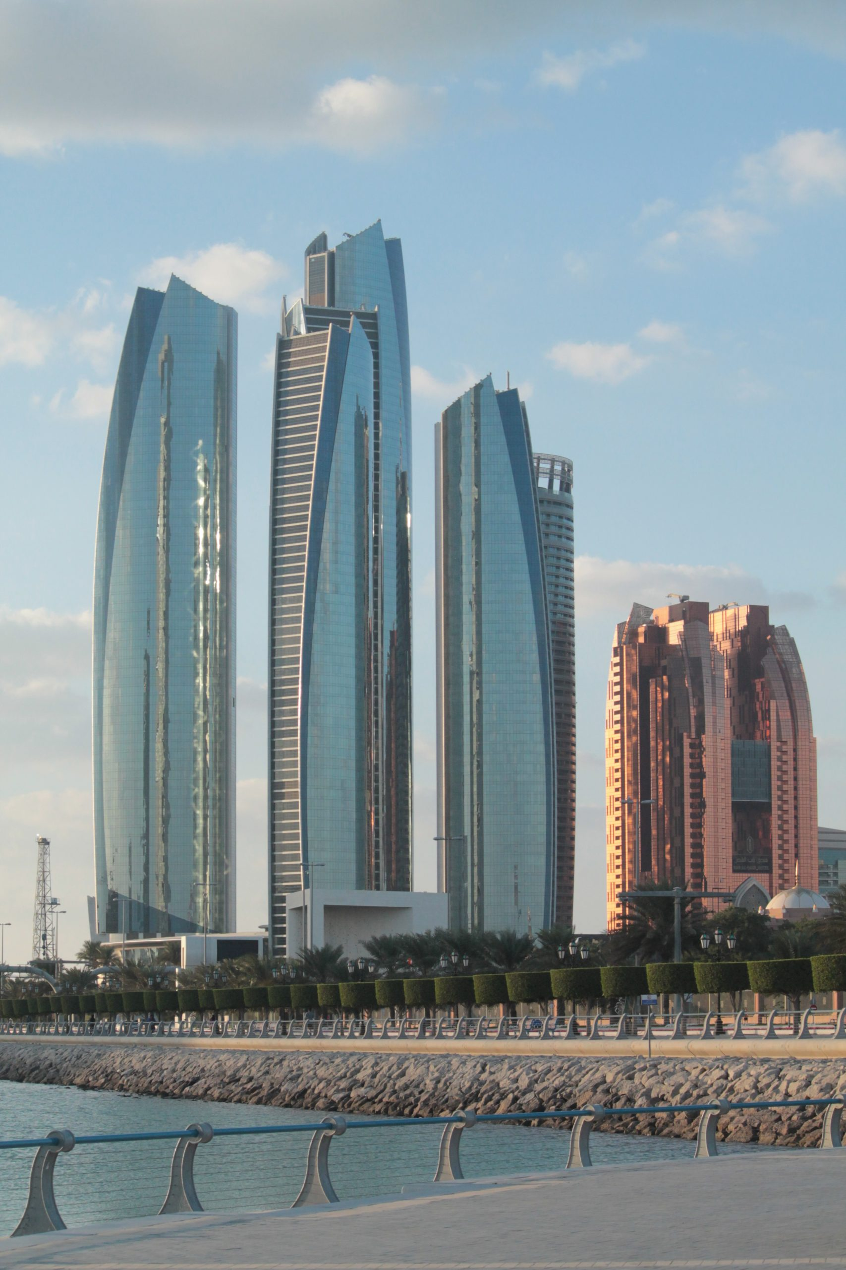 Building landscape in Dubai