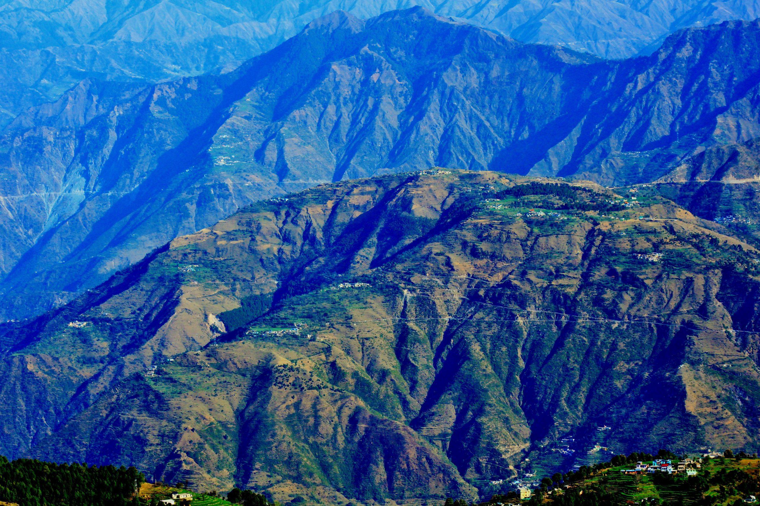 Mountains of Dalhousie, Himachal