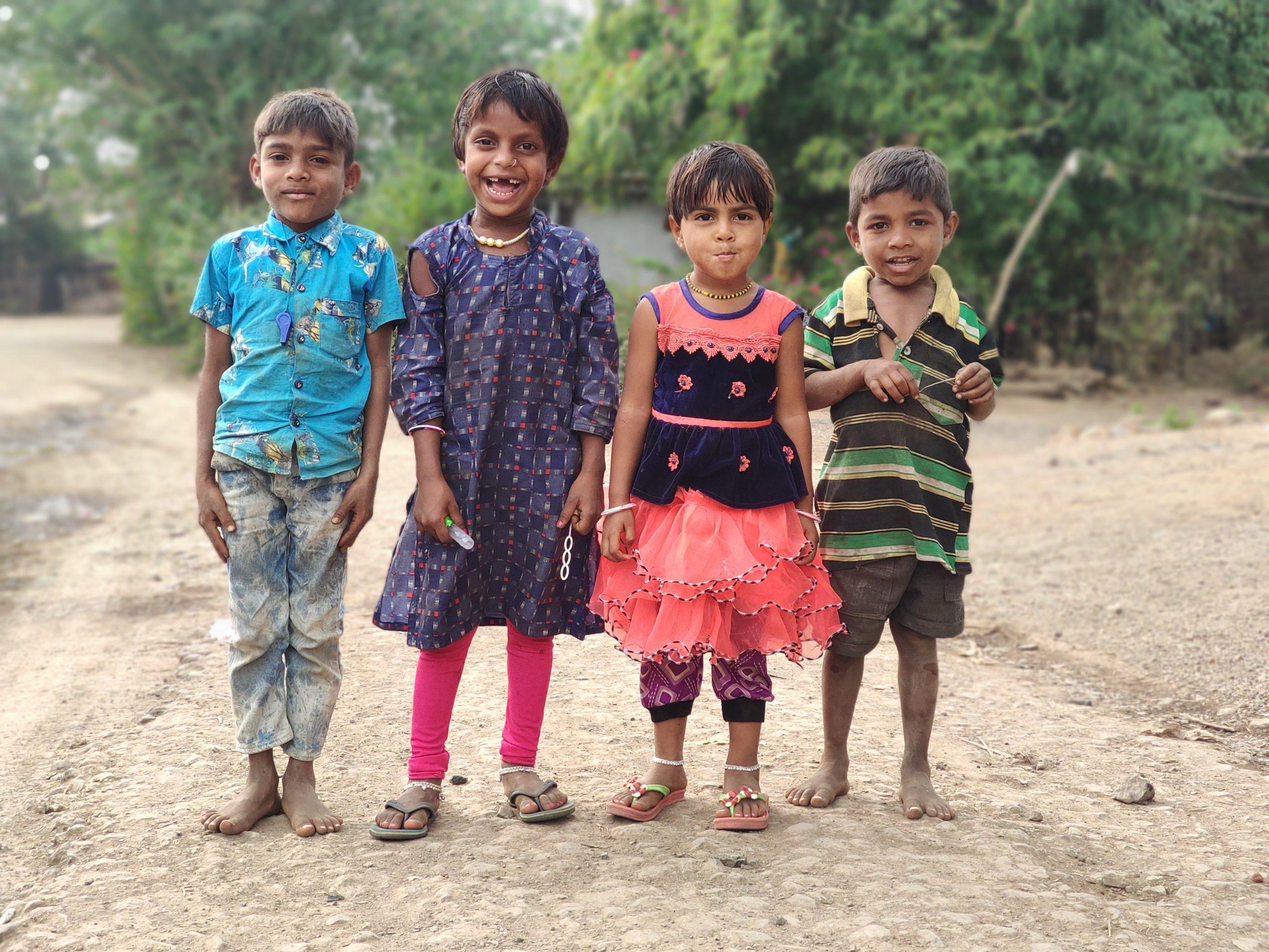 Children of a village