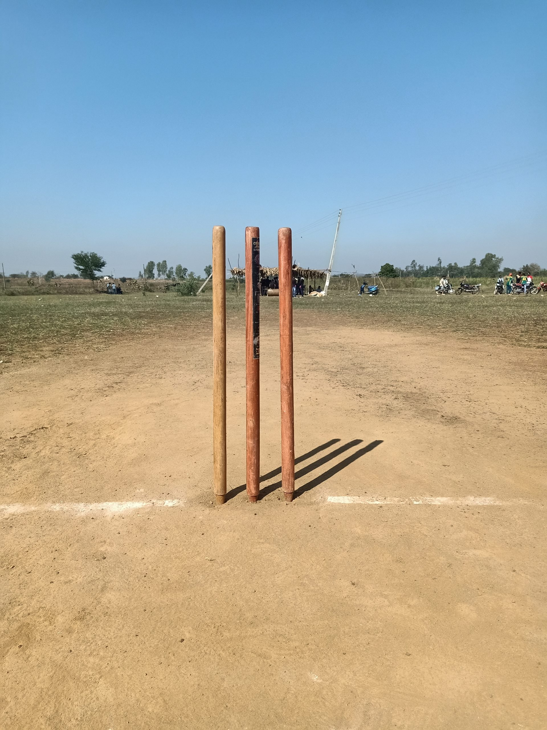 Cricket stumps
