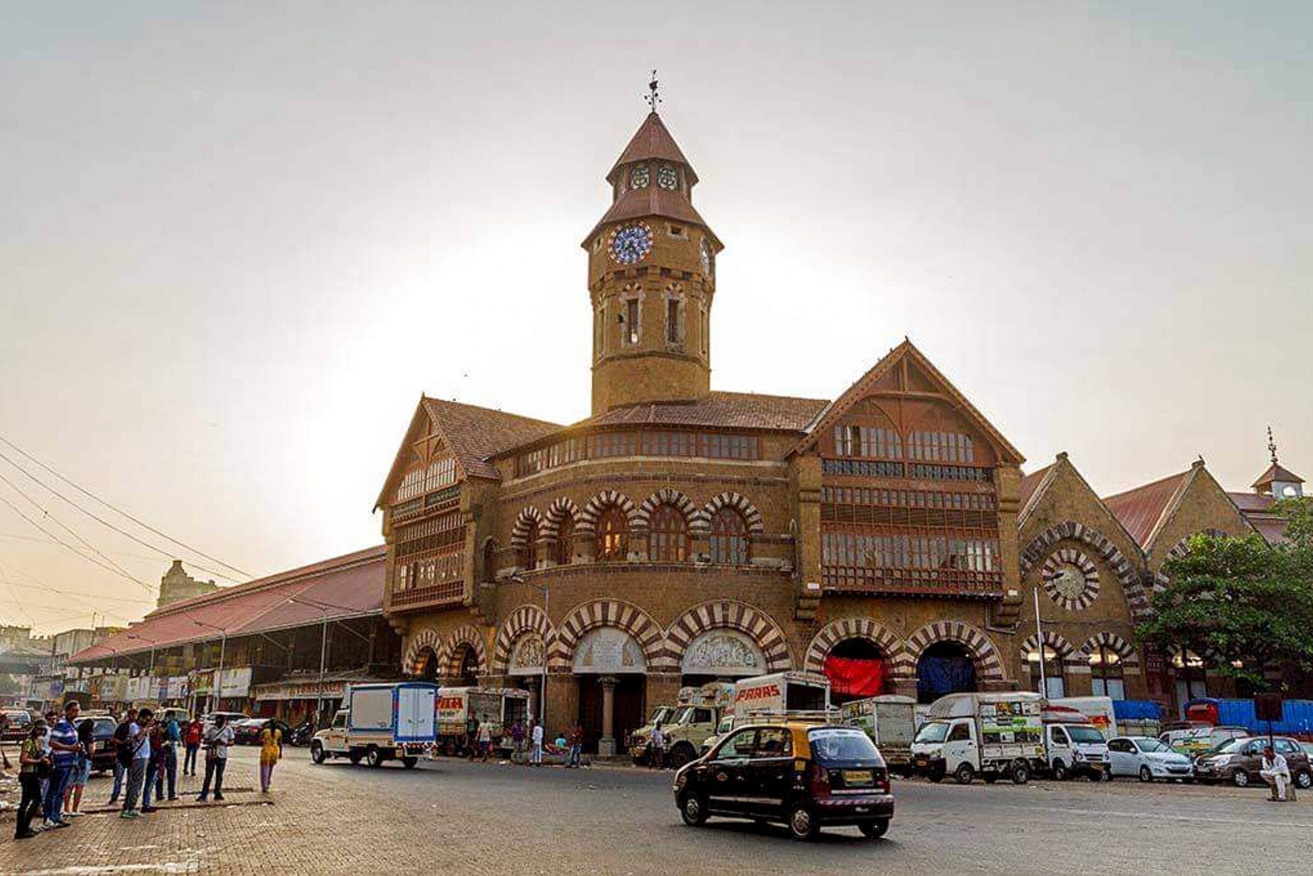 Crowford Market in Mumbai