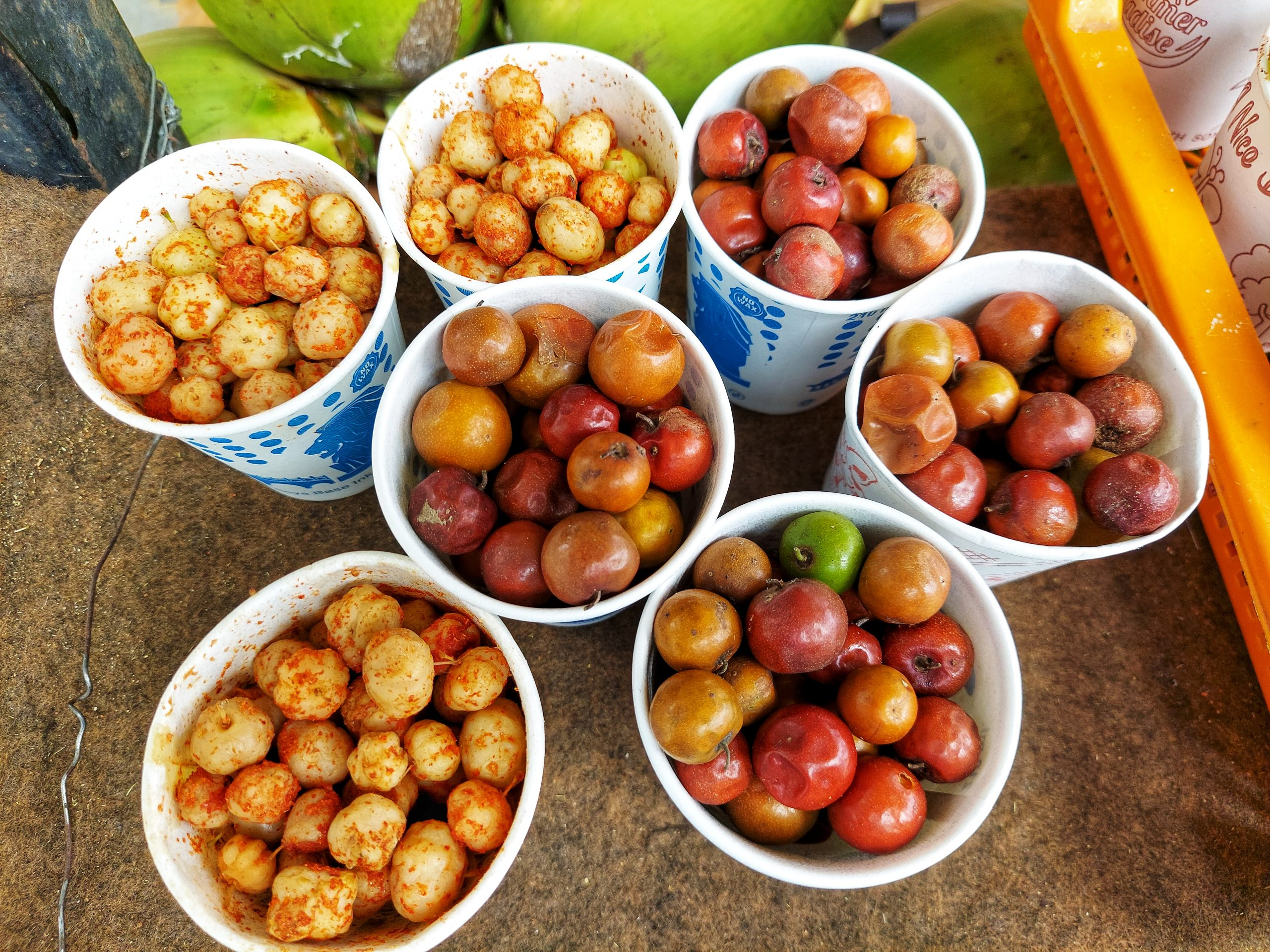 Gooseberry snacks for sale at local shops