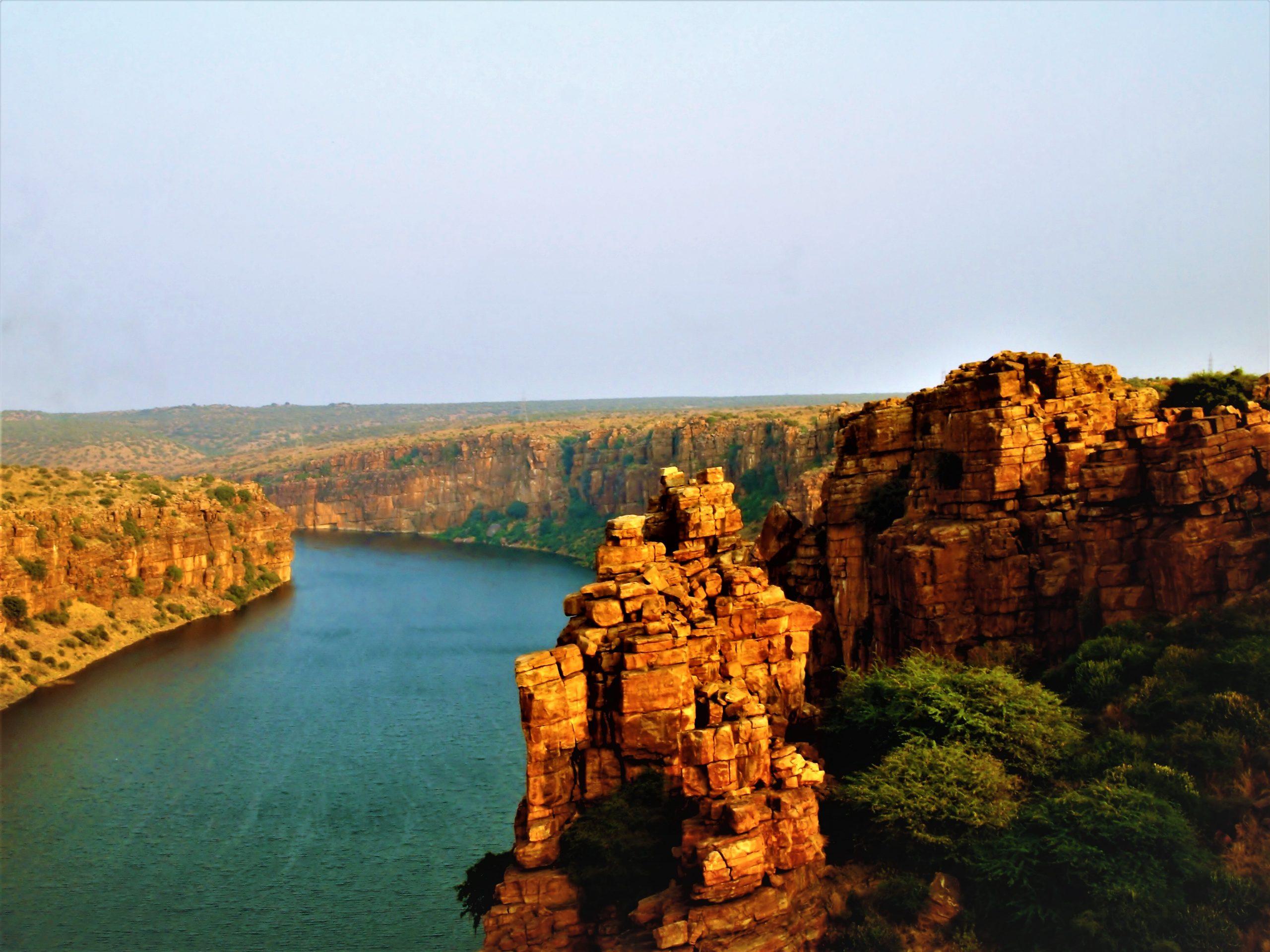 'Grand Canyon of India at Gandikota, Andhra Prades